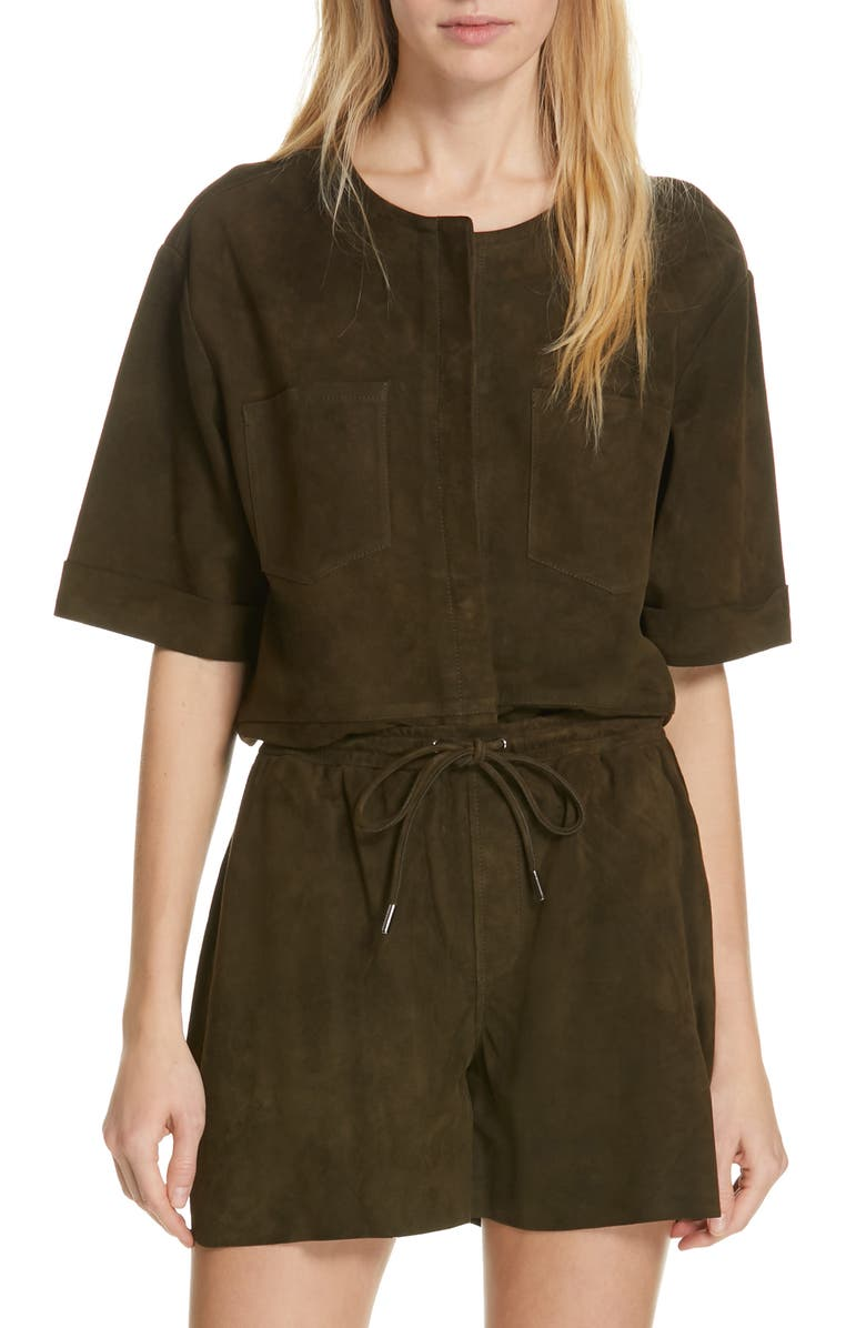 Frame Tops WALKING SUEDE TUNIC TOP