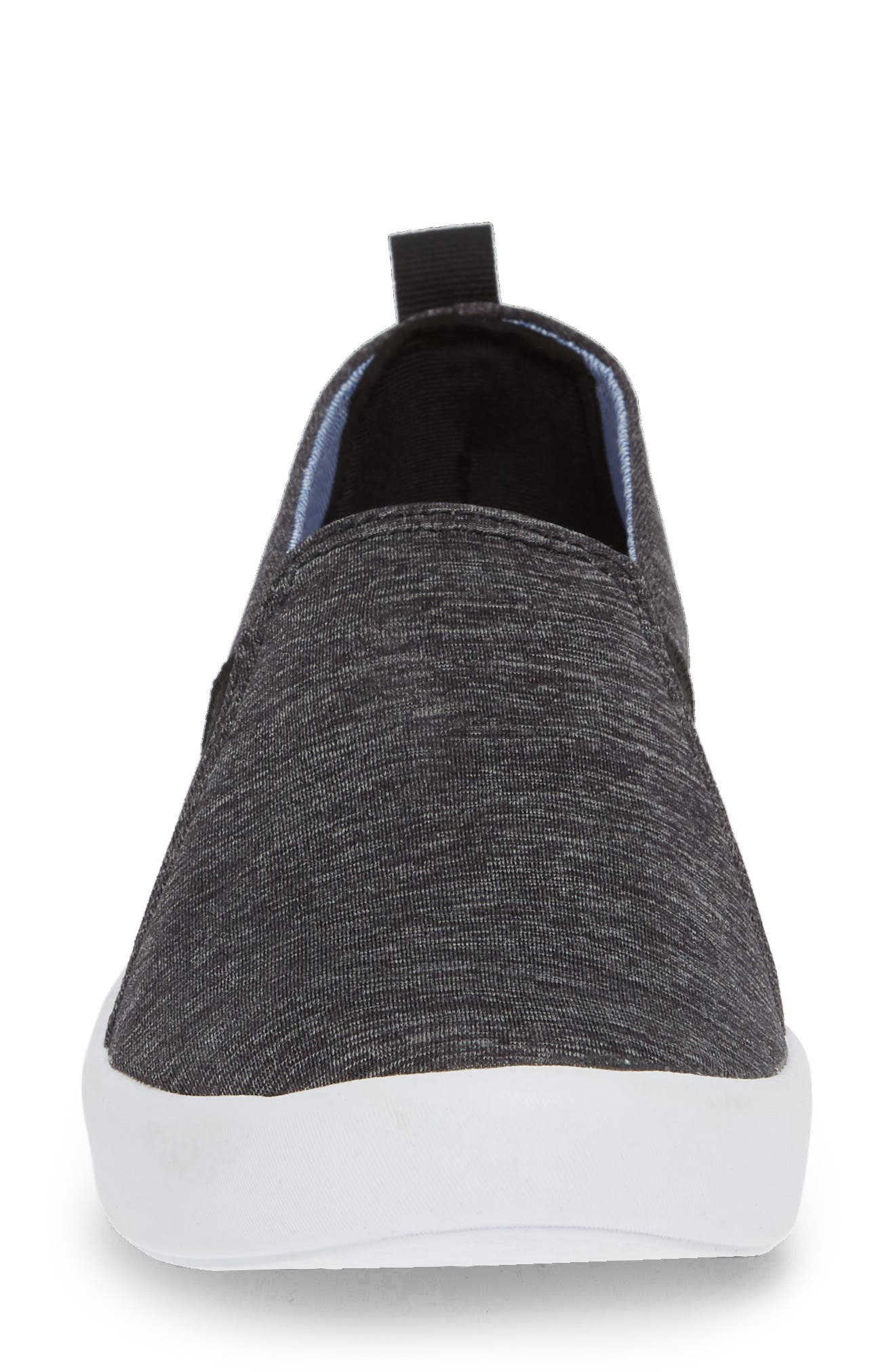 KEDS<SUP>®</SUP>, Studio Liv Active Knit Sneaker, Alternate thumbnail 4, color, BLACK