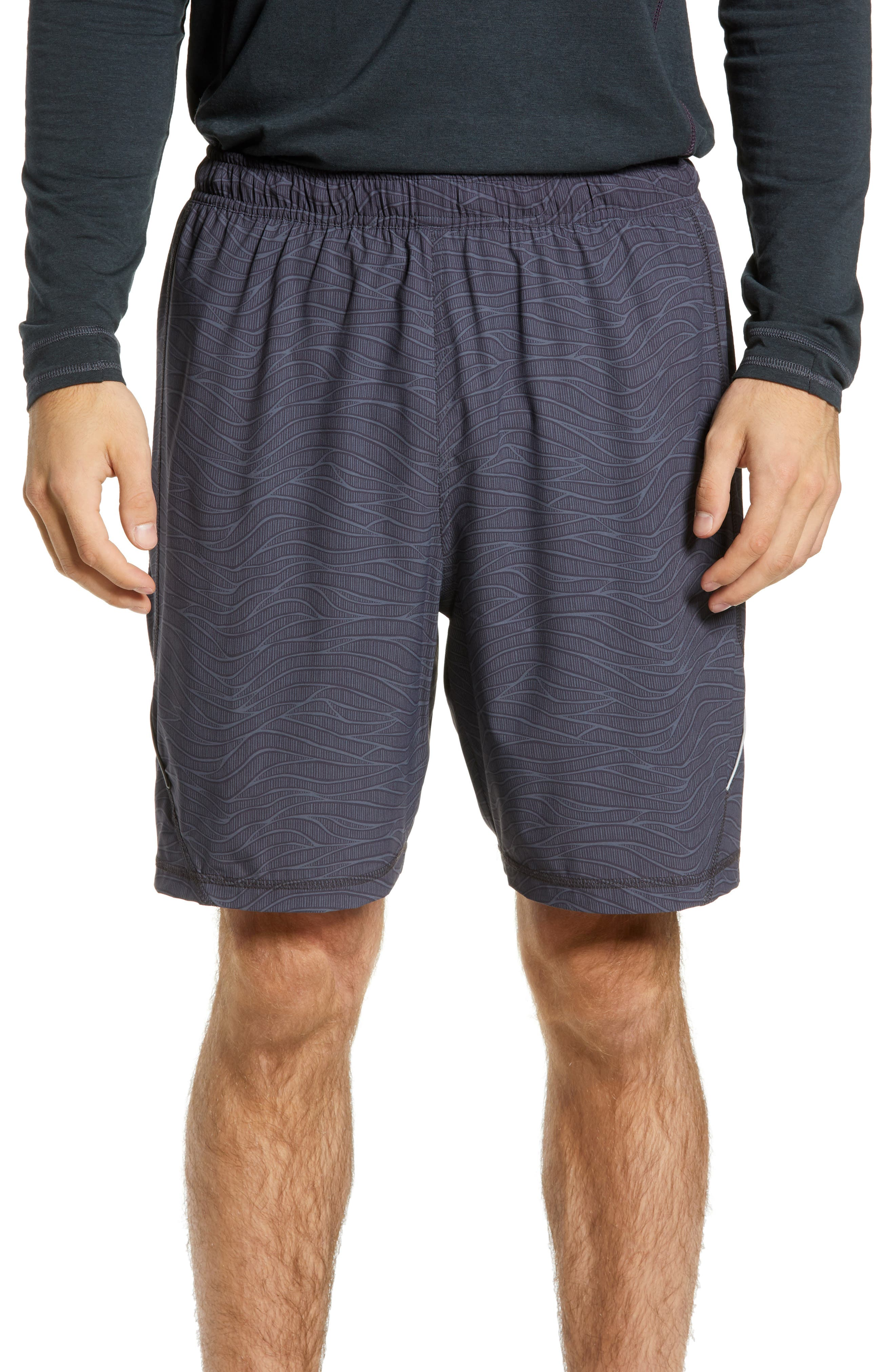 TASC PERFORMANCE, Propulsion Athletic Shorts, Main thumbnail 1, color, BLACK SONIC WAVE