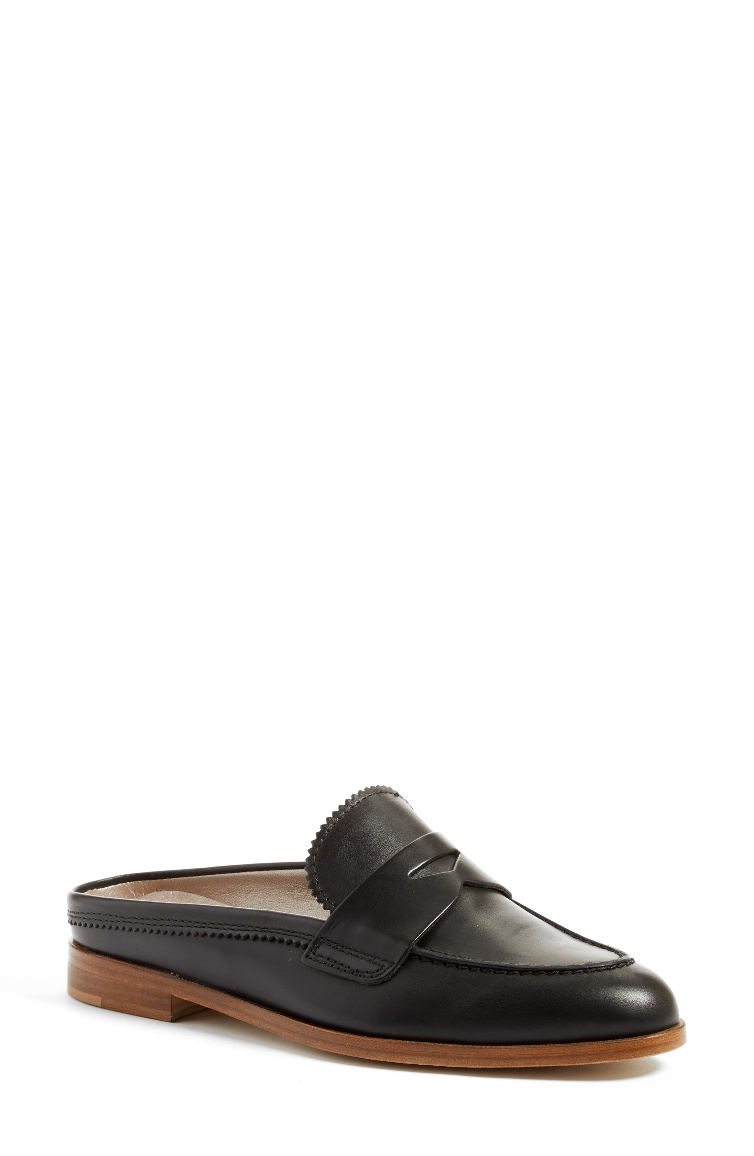 AGL, Penny Loafer Mule, Main thumbnail 1, color, 001