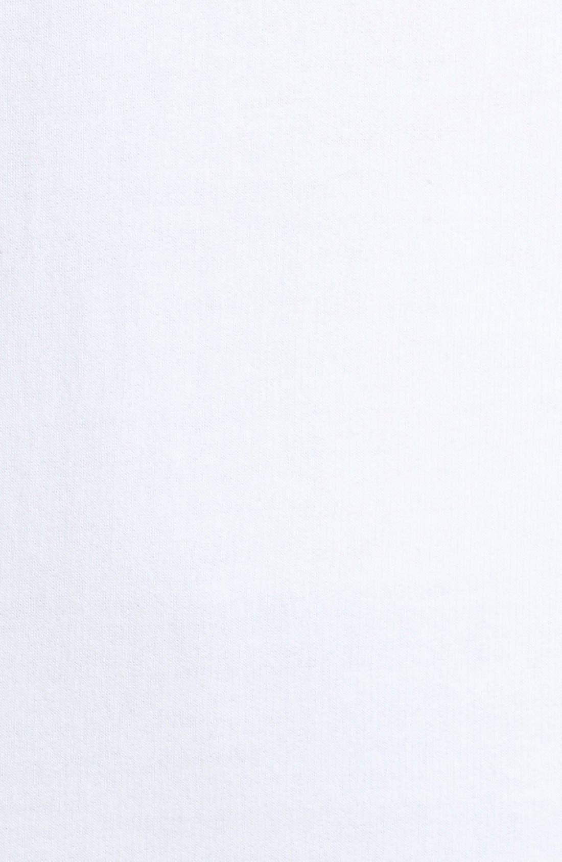 BRUNETTE THE LABEL, Brunette 'Roll Call' Crewneck Sweatshirt, Alternate thumbnail 4, color, 100