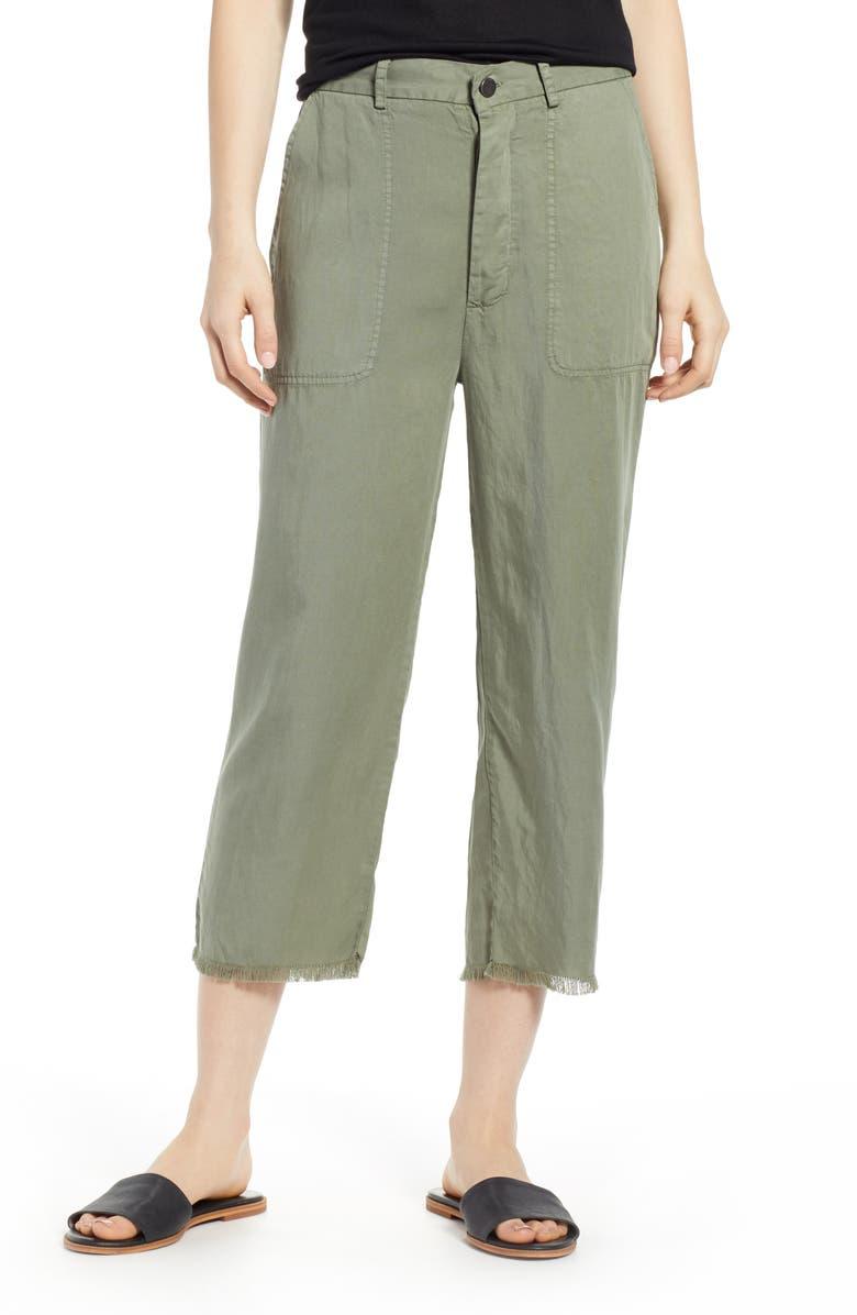 Dl Pants 1961 LORIMER HIGH WAIST CROP STRAIGHT LEG PANTS