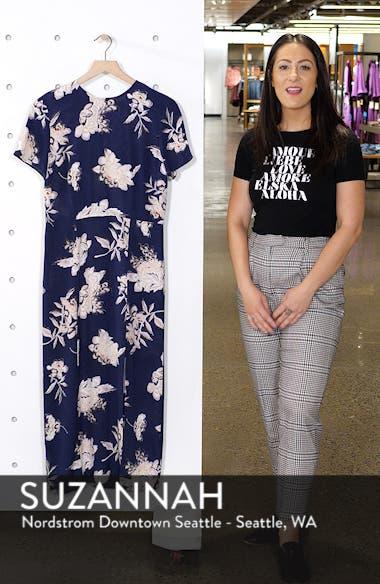 Print Midi Dress, sales video thumbnail