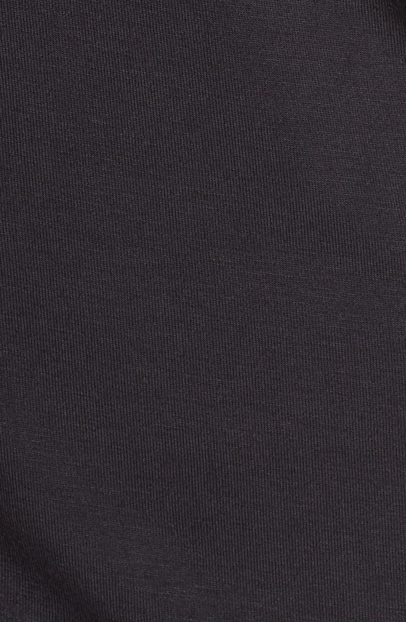 UGG<SUP>®</SUP>, Nya Short Pajamas, Alternate thumbnail 5, color, BLACK