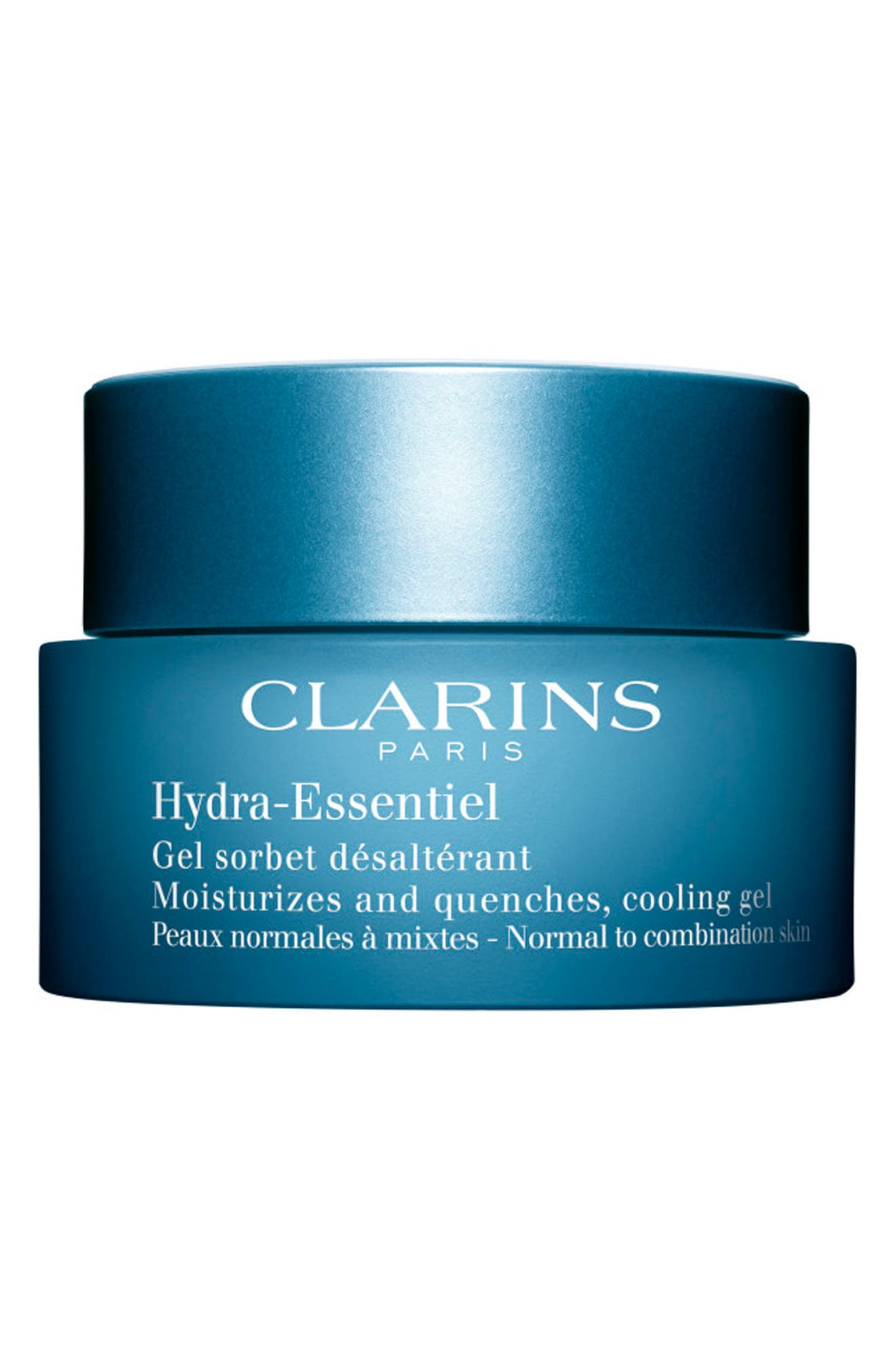 CLARINS Hydra-Essentiel Cream Gel, Main, color, NO COLOR