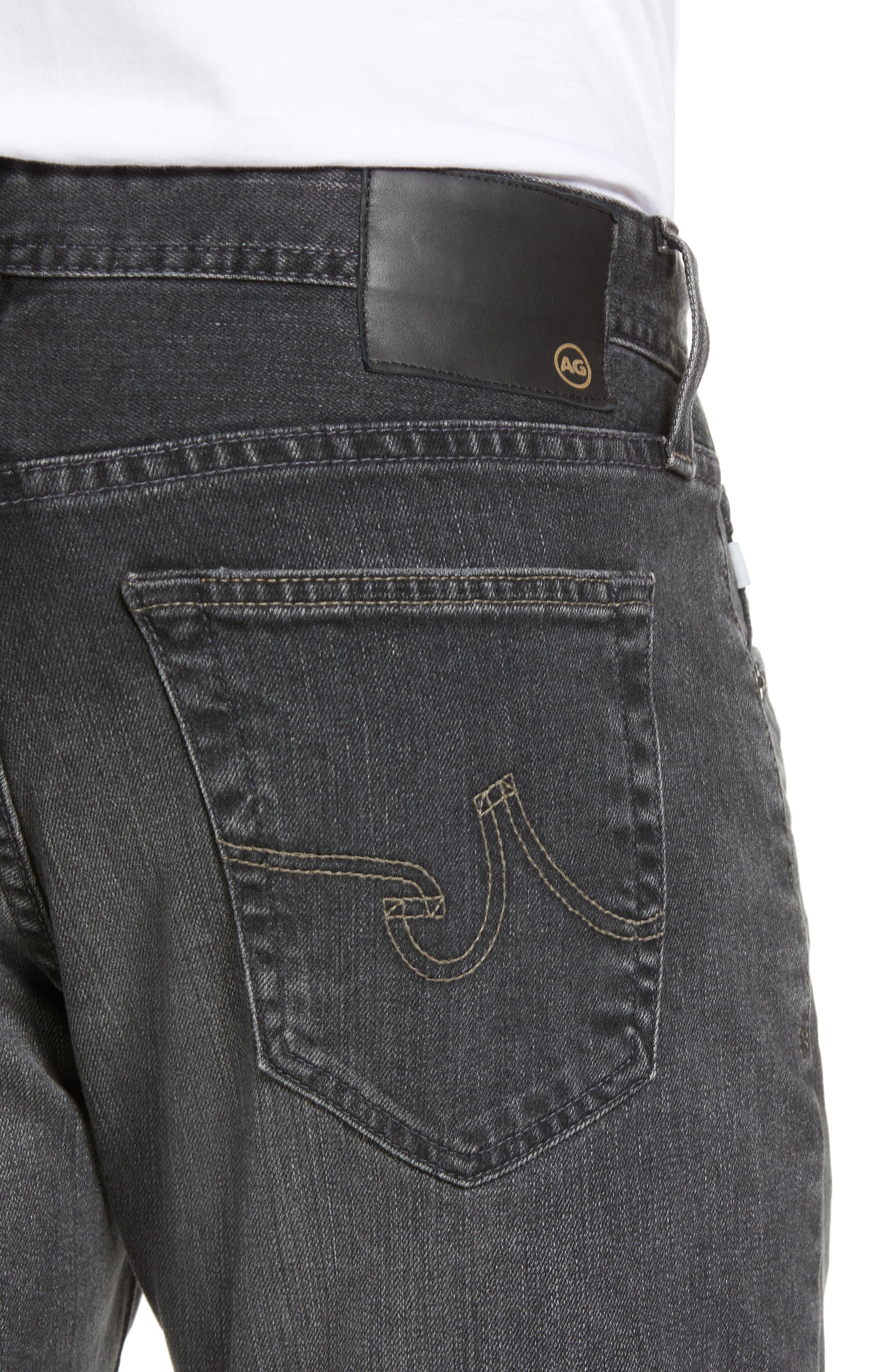 AG, Everett Slim Straight Leg Jeans, Alternate thumbnail 5, color, 6 YEARS ARCADE