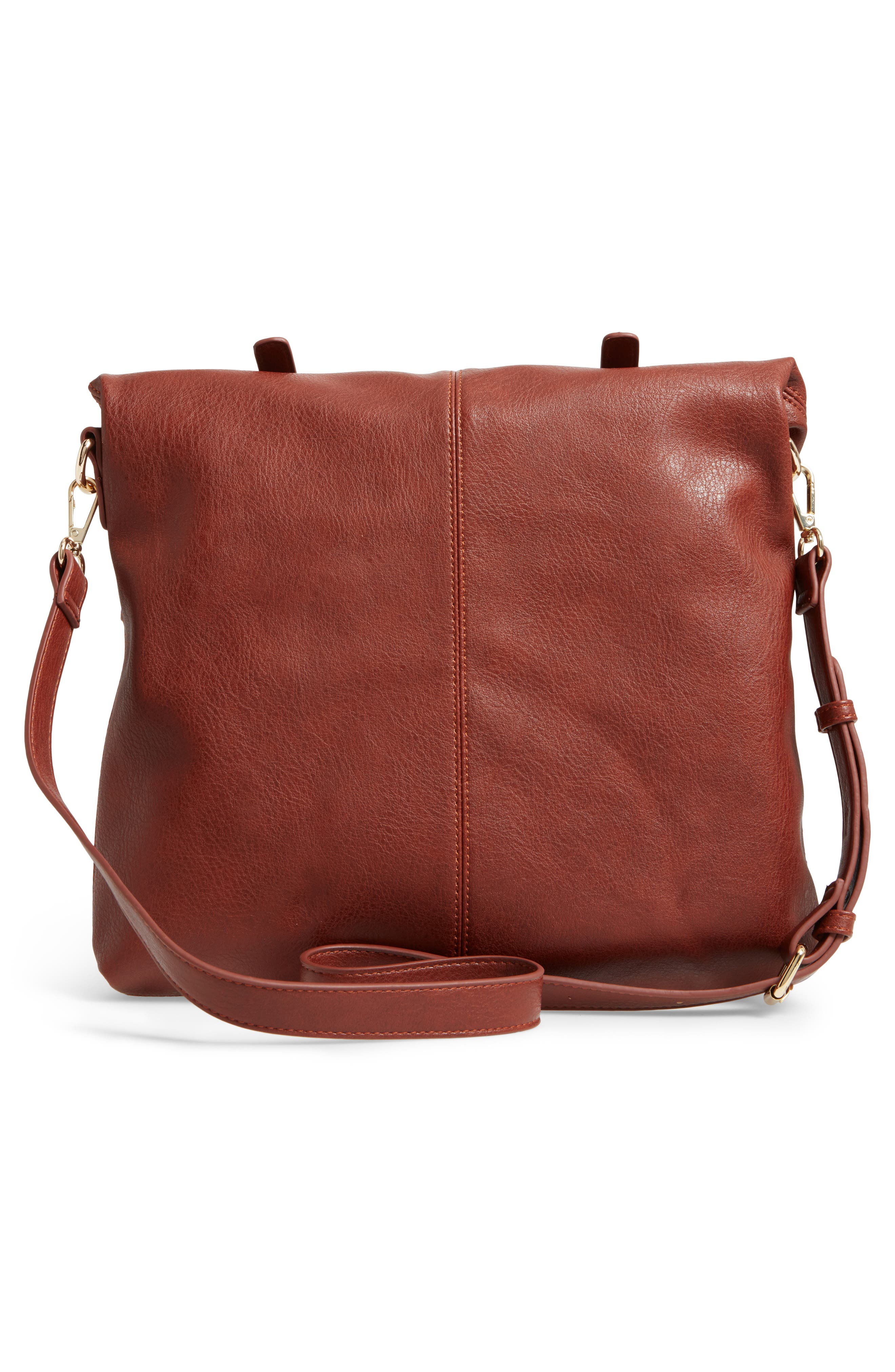 SOLE SOCIETY, Charlie Foldover Tote, Alternate thumbnail 3, color, 201