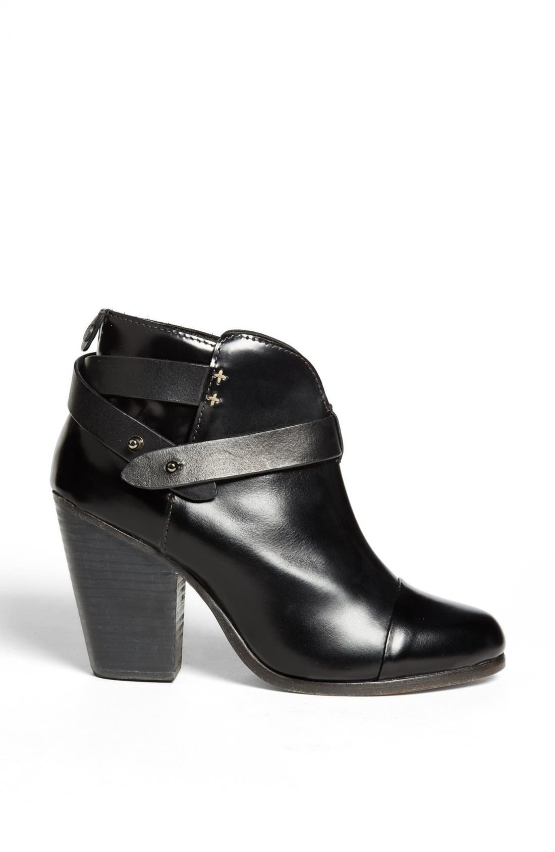RAG & BONE, 'Harrow' Bootie, Alternate thumbnail 2, color, 001
