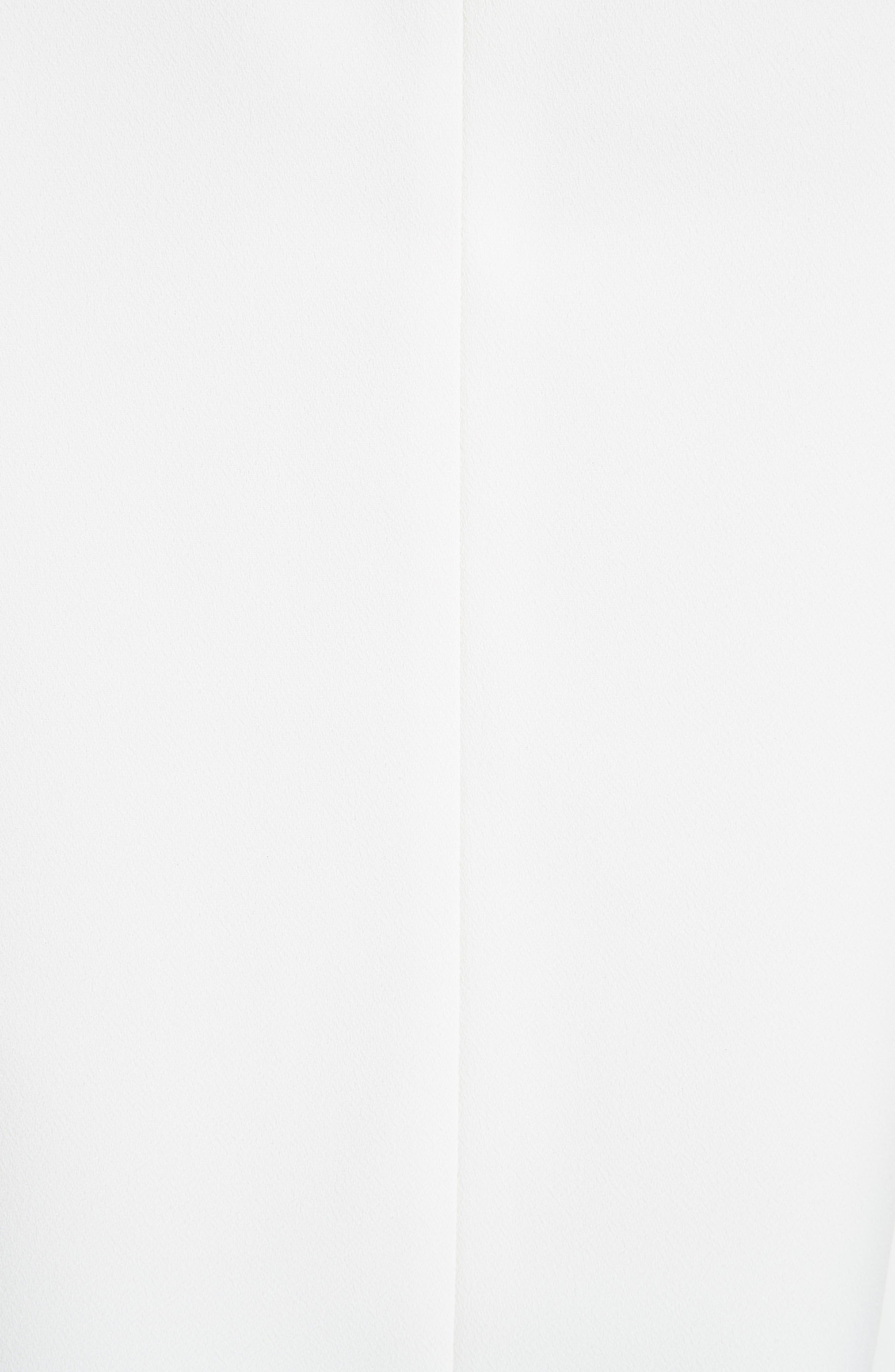 TED BAKER LONDON, Kelliss Sculpted Bow Sleeveless Top, Alternate thumbnail 5, color, 905