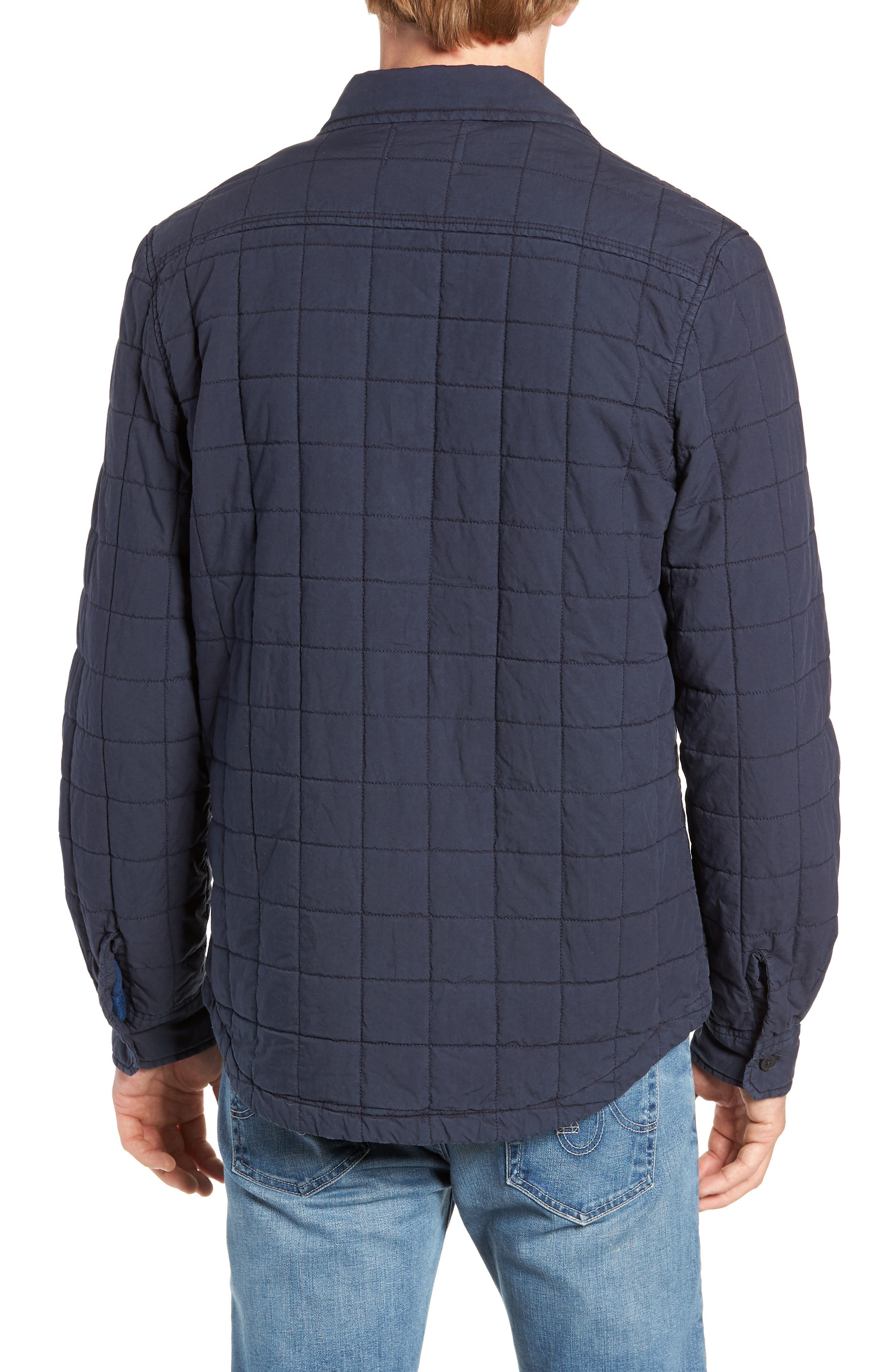 UGG<SUP>®</SUP>, Quilted Shirt Jacket, Alternate thumbnail 2, color, 400