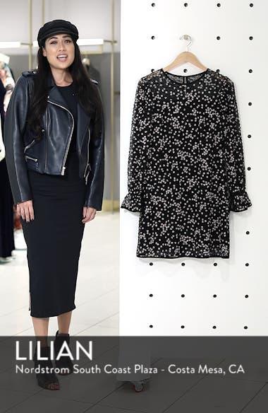 Floral Grid Shift Dress, sales video thumbnail