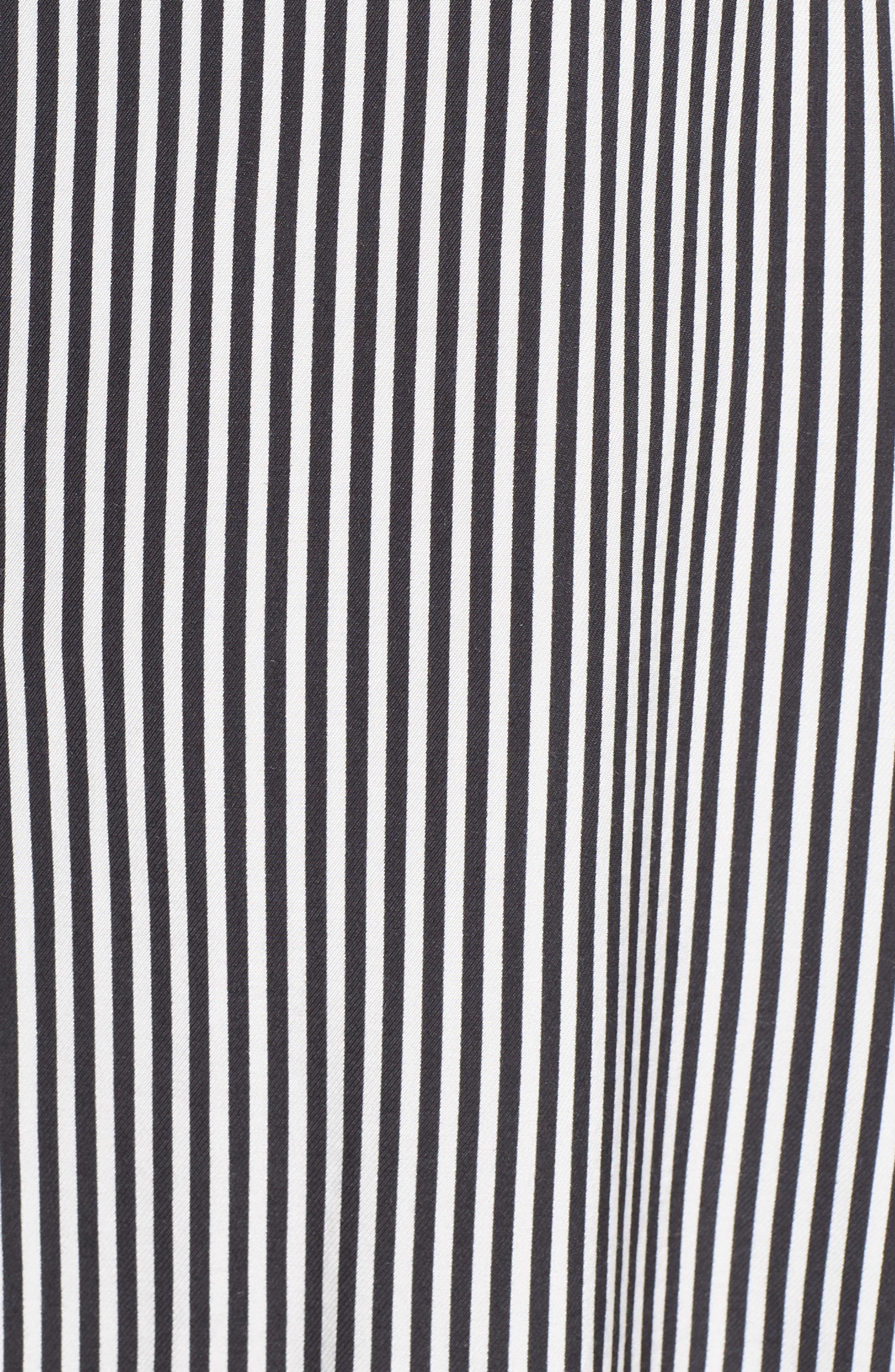 ALI & JAY, Take Me Downtown Stripe Dress, Alternate thumbnail 6, color, 001