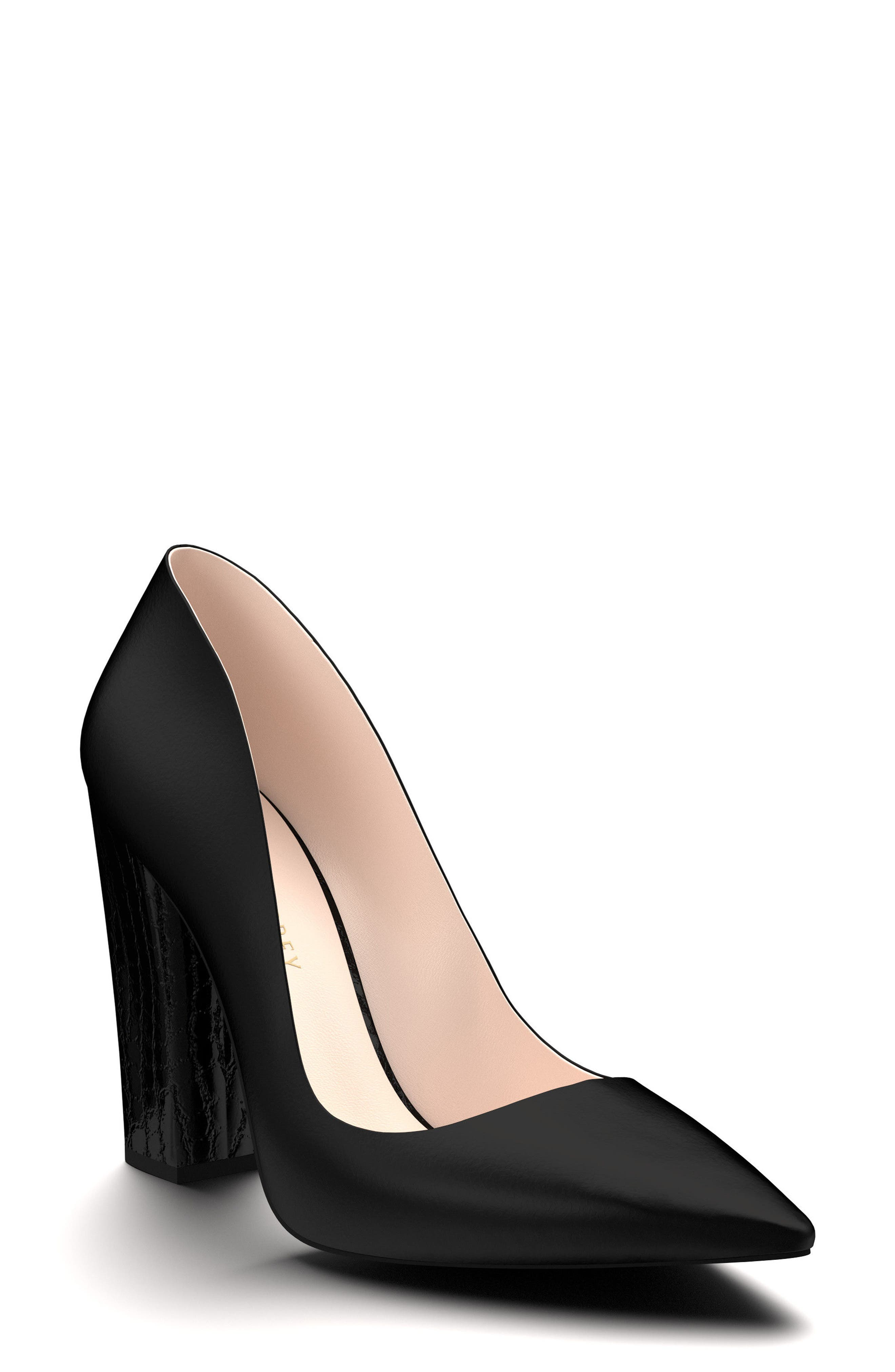 SHOES OF PREY Pointy Toe Pump, Main, color, 001