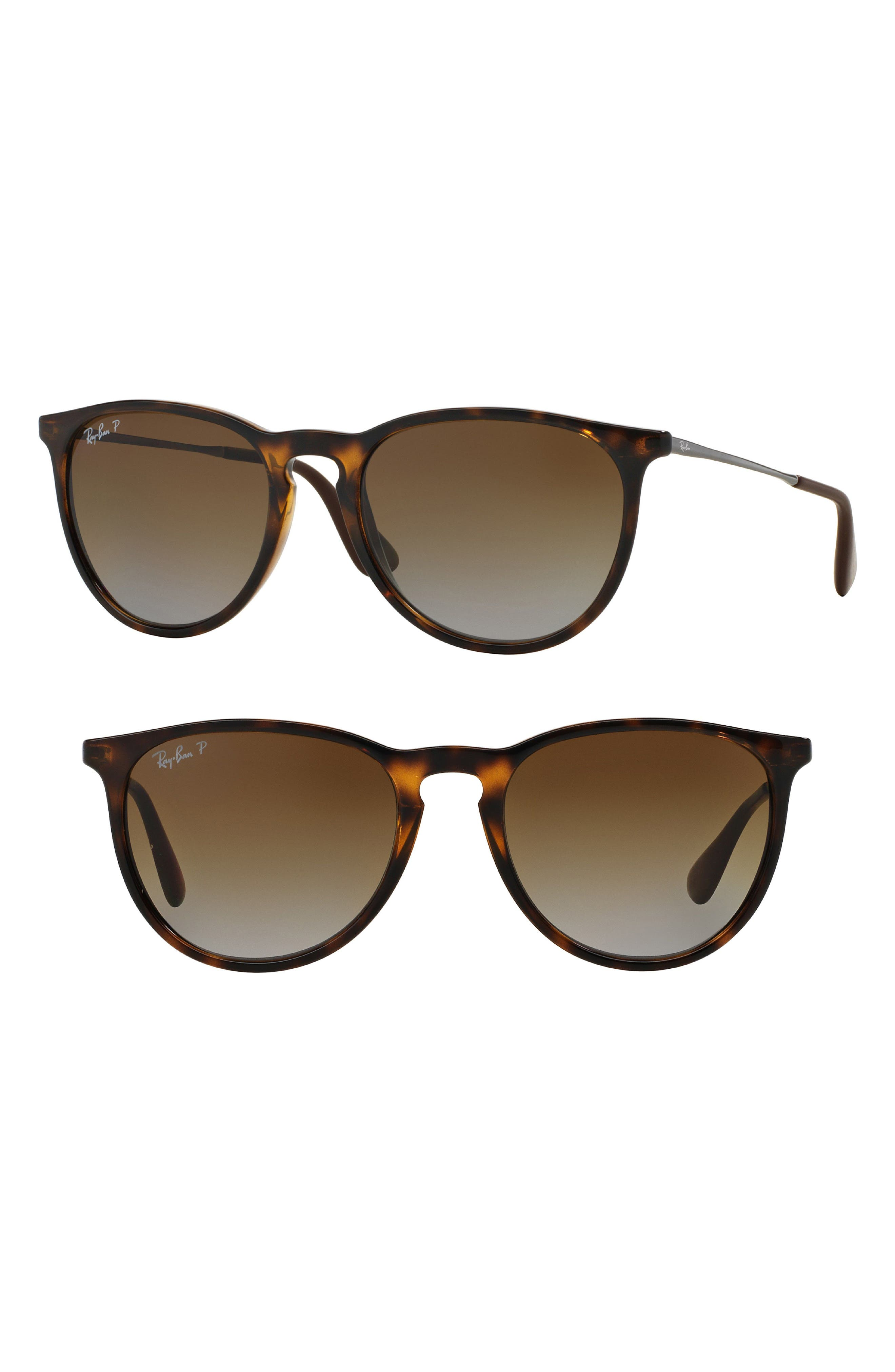 RAY-BAN Erika Classic 54mm Sunglasses, Main, color, HAVANA