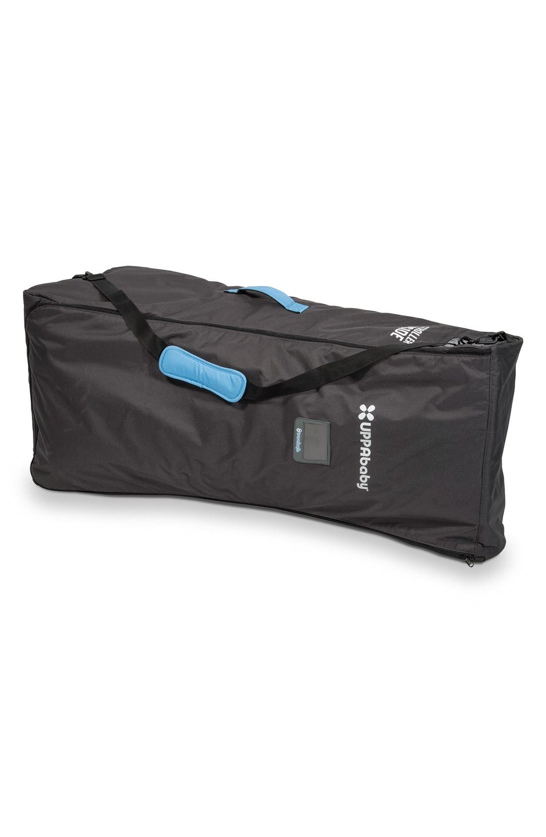 UPPABABY, 'G-LINK<sup>™</sup>' Side by Side Stroller Travel Bag, Main thumbnail 1, color, black