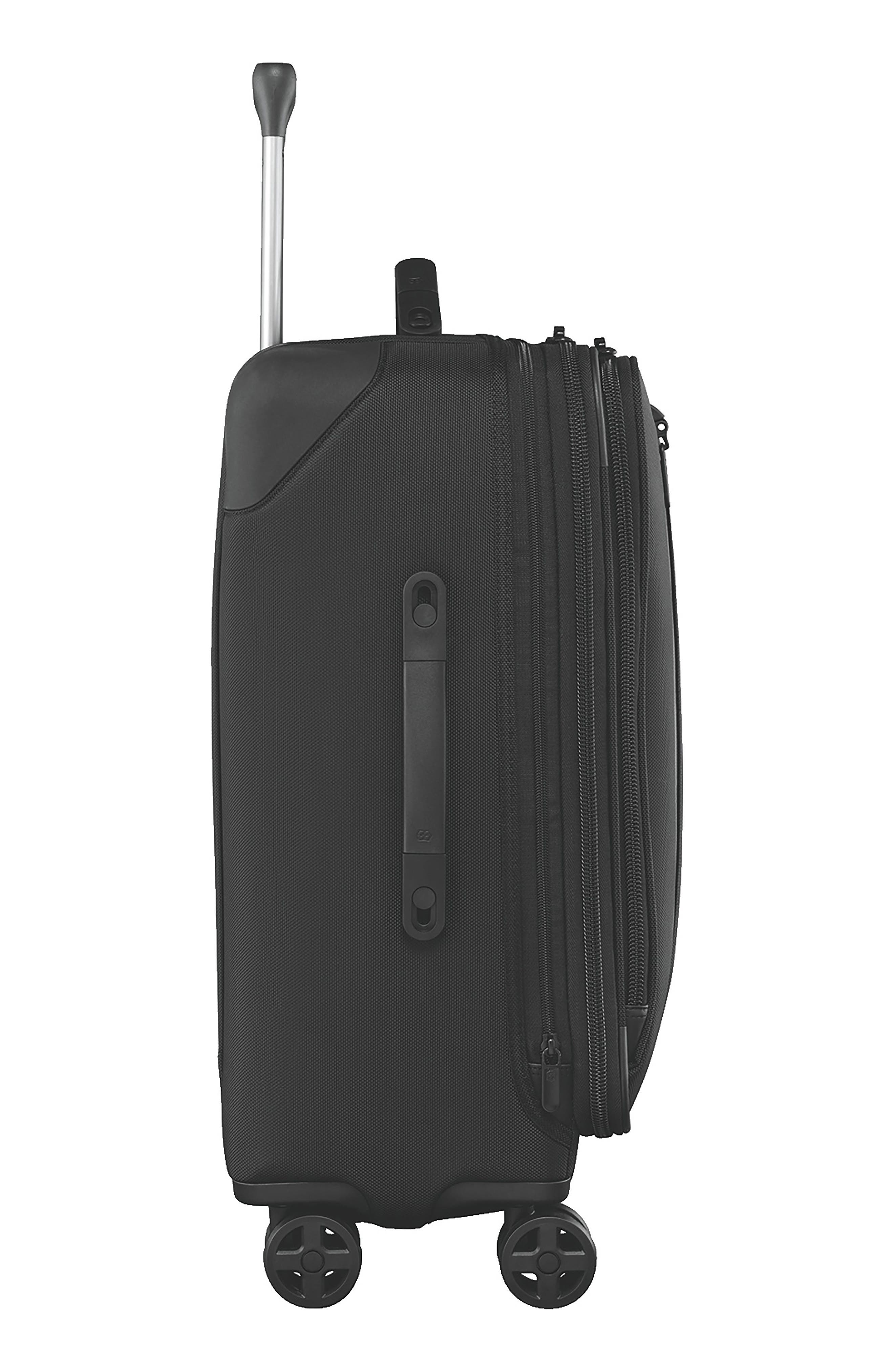 VICTORINOX SWISS ARMY<SUP>®</SUP>, Lexicon 2.0 24-Inch Wheeled Suitcase, Alternate thumbnail 2, color, BLACK