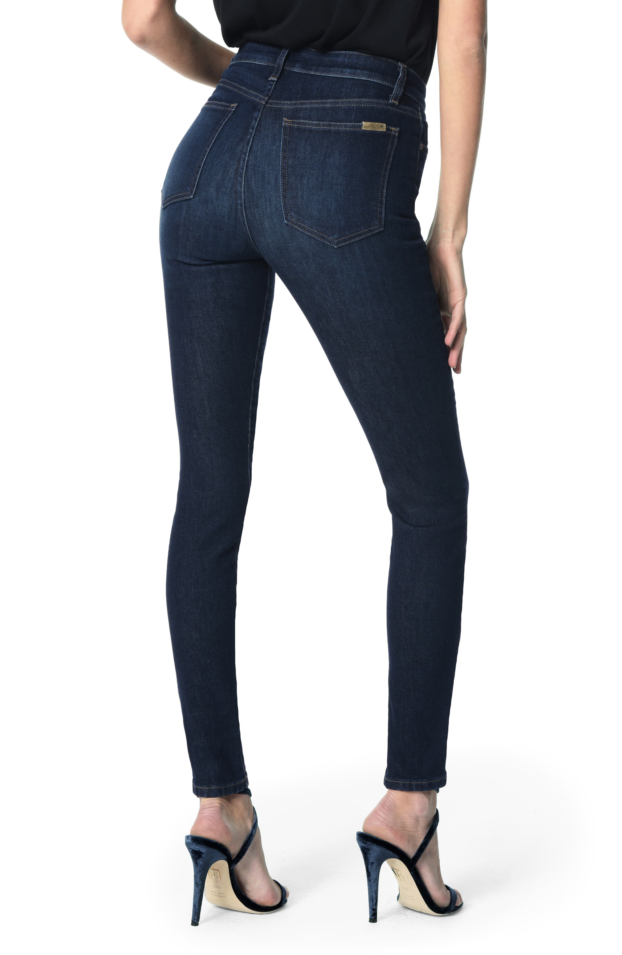 JOE'S, Charlie High Waist Skinny Jeans, Alternate thumbnail 2, color, KEELY