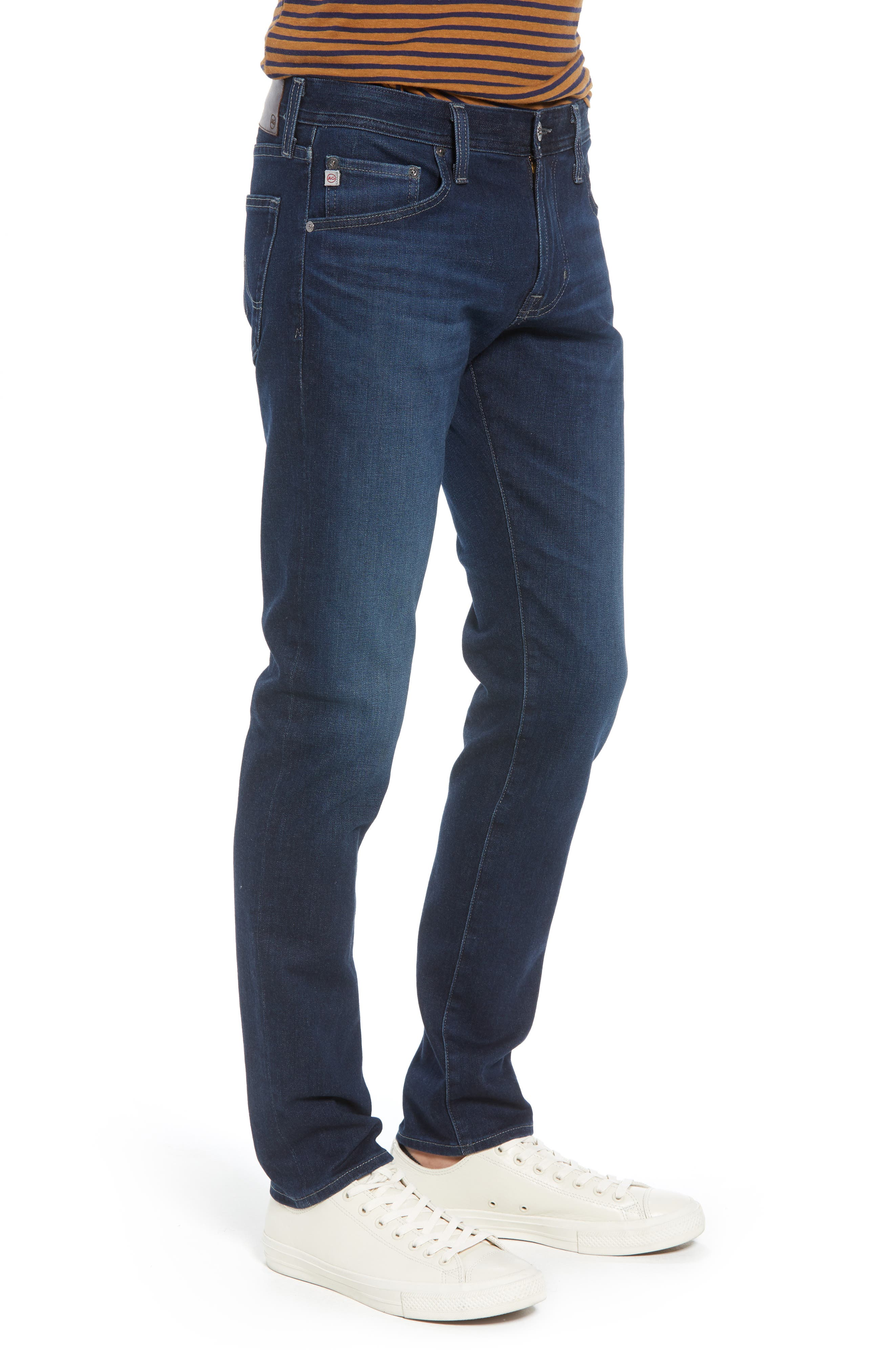 AG, Dylan Skinny Fit Jeans, Alternate thumbnail 4, color, BURROUGHS