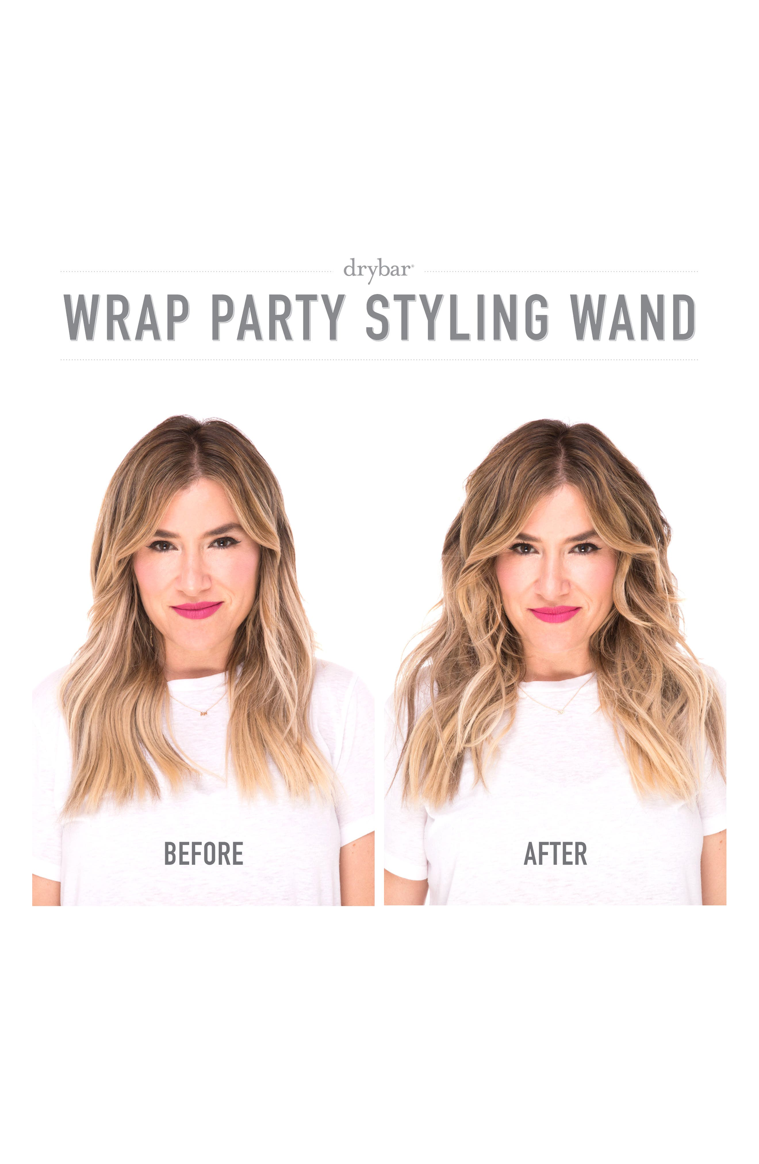 DRYBAR, The Wrap Party Curling & Styling Wand, Alternate thumbnail 3, color, NO COLOR