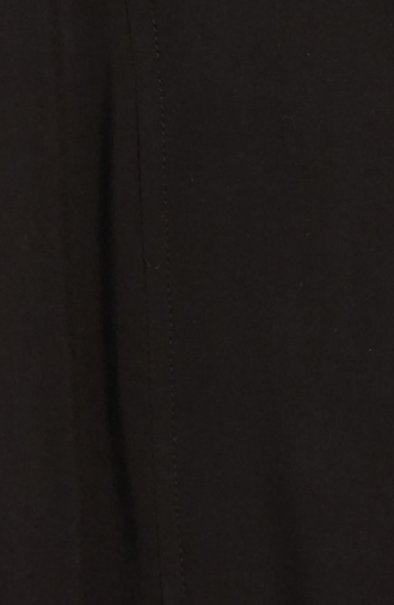 WALKING ON SUNSHINE, Hooded Jacket, Alternate thumbnail 2, color, BLACK