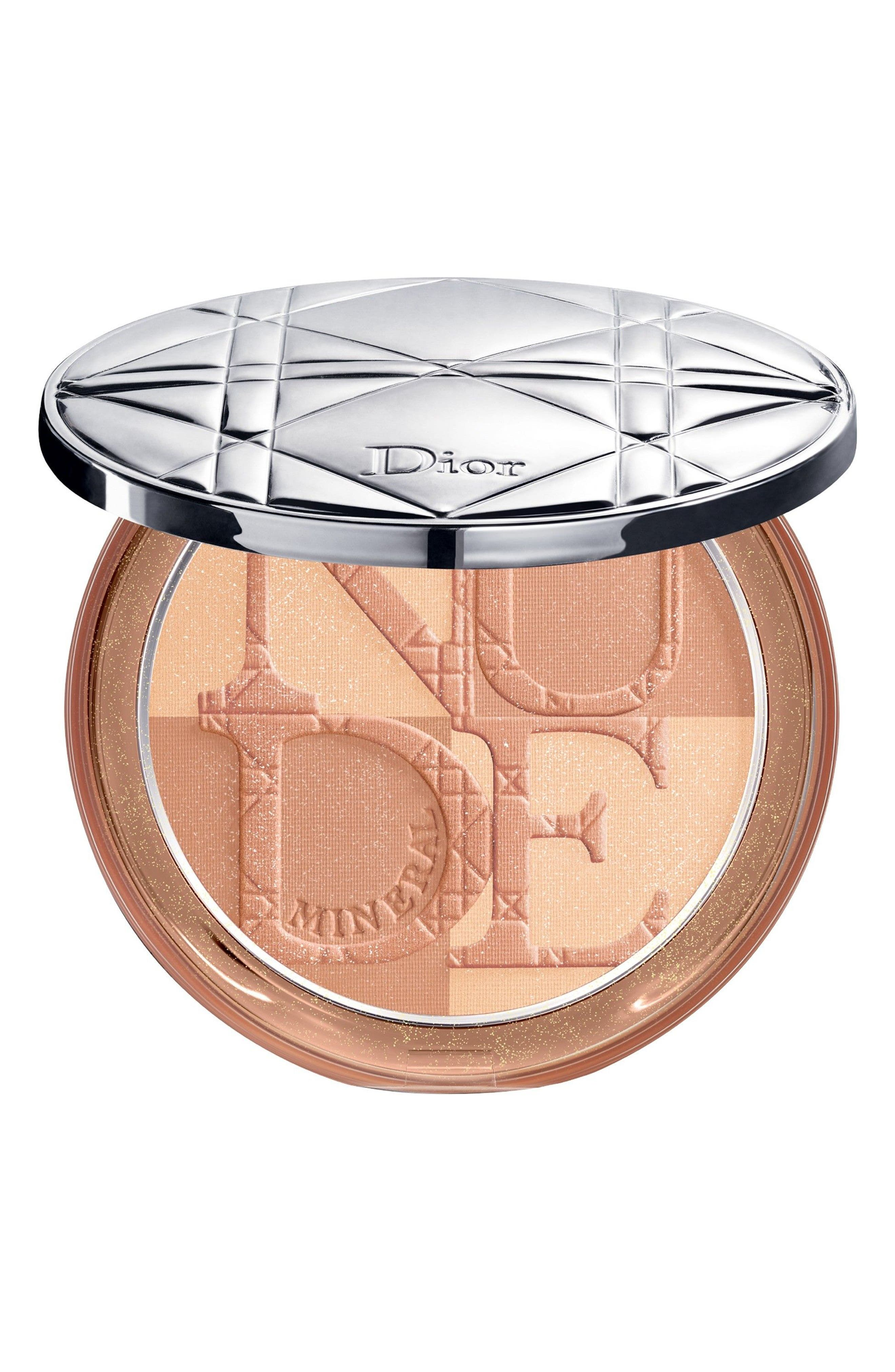 DIOR, Diorskin Mineral Nude Bronze Powder, Main thumbnail 1, color, 001 SOFT SUNRISE