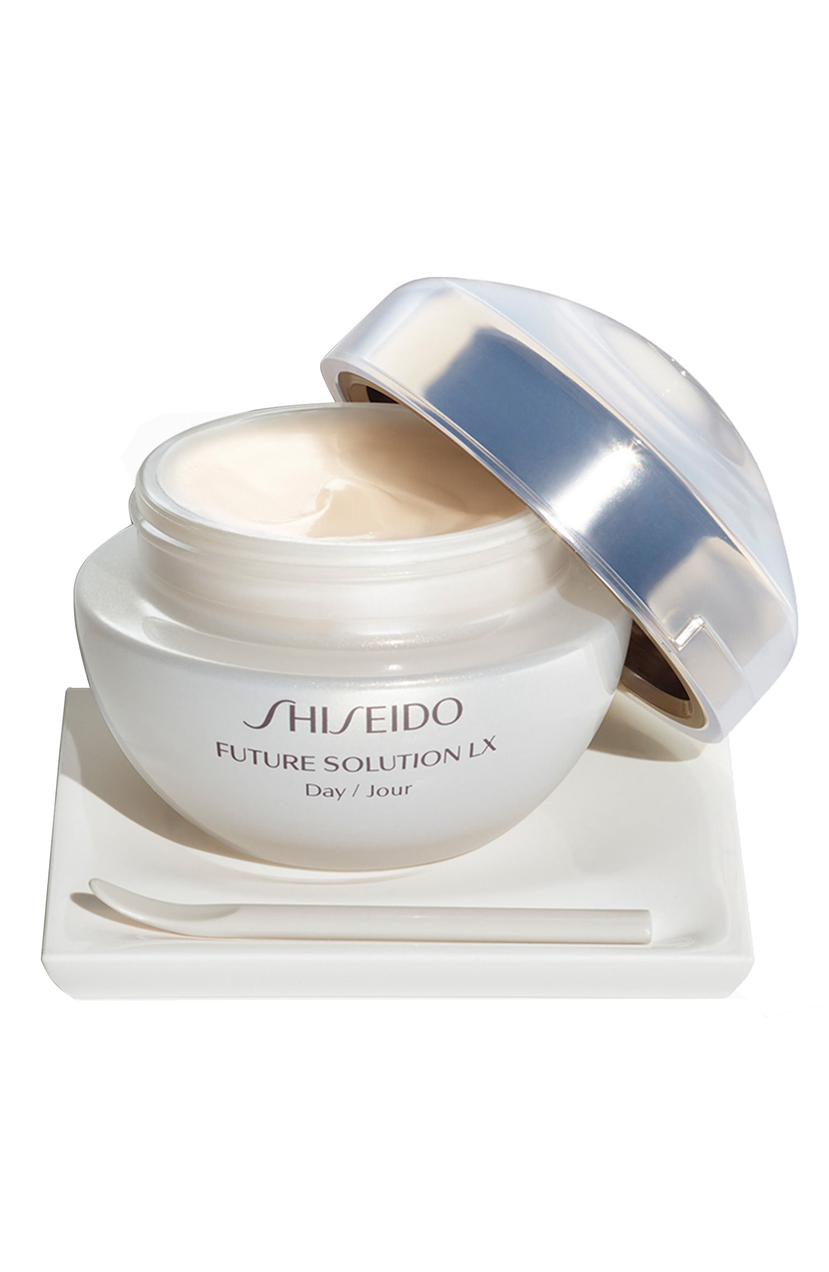 SHISEIDO, Future Solution LX Total Protective Cream Broad Spectrum SPF 20 Sunscreen, Main thumbnail 1, color, NO COLOR