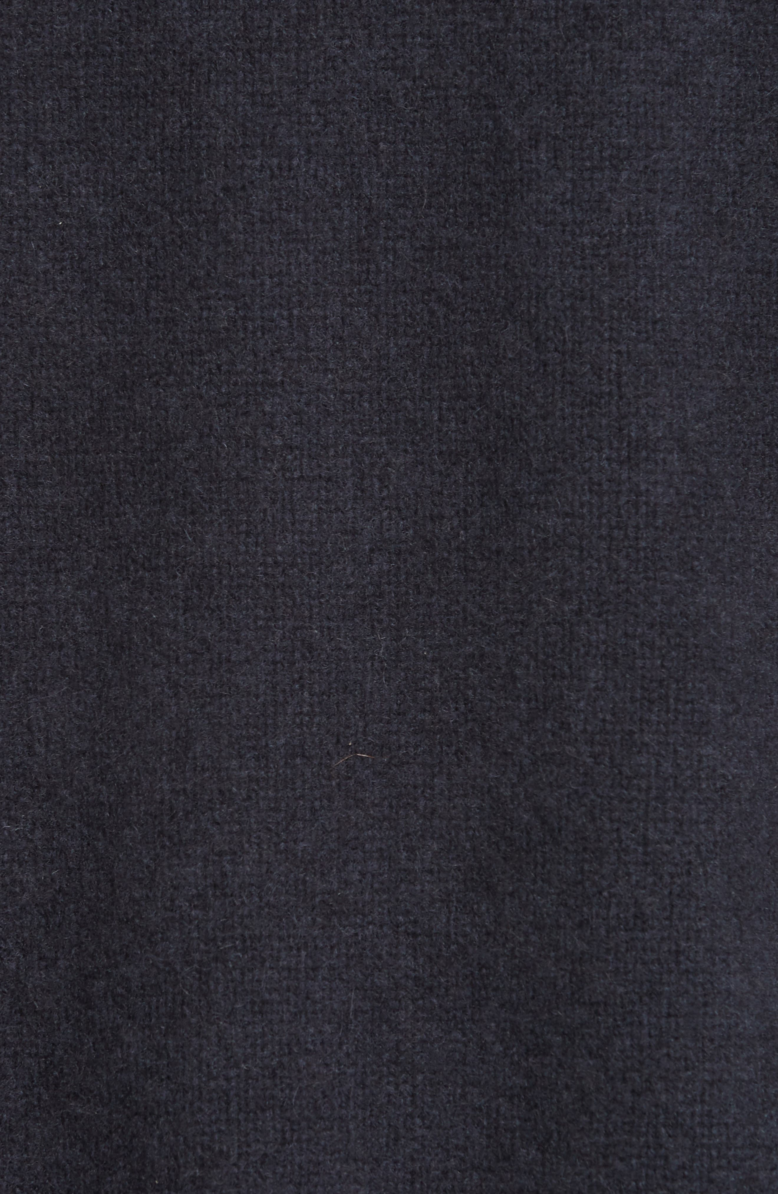 VINCE, Boxy Cashmere Sweater, Alternate thumbnail 5, color, OBSIDIAN
