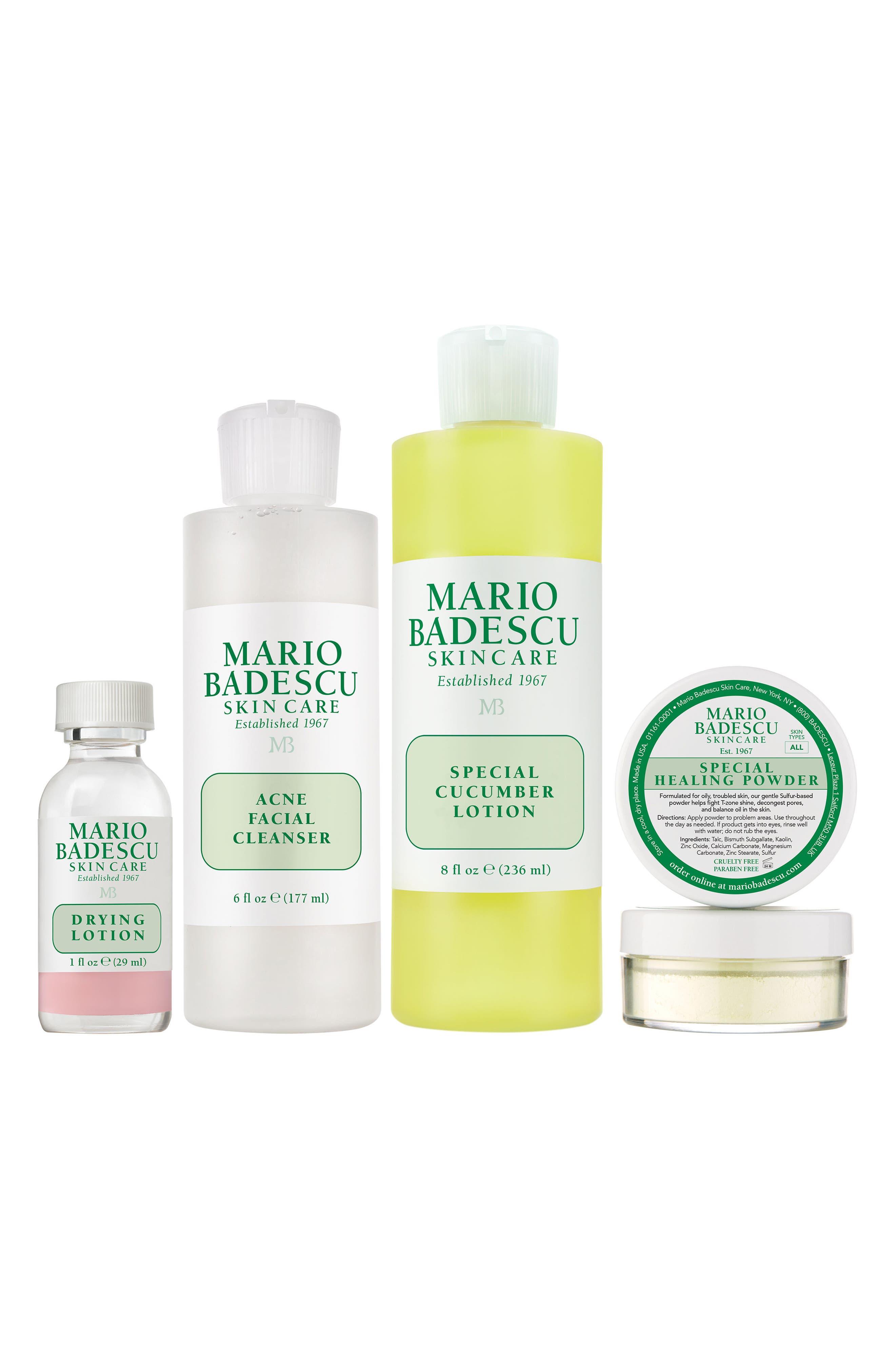 MARIO BADESCU, Acne Skin Care Kit, Main thumbnail 1, color, NO COLOR