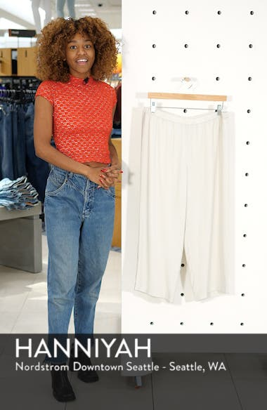 Silk Crop Pants, sales video thumbnail
