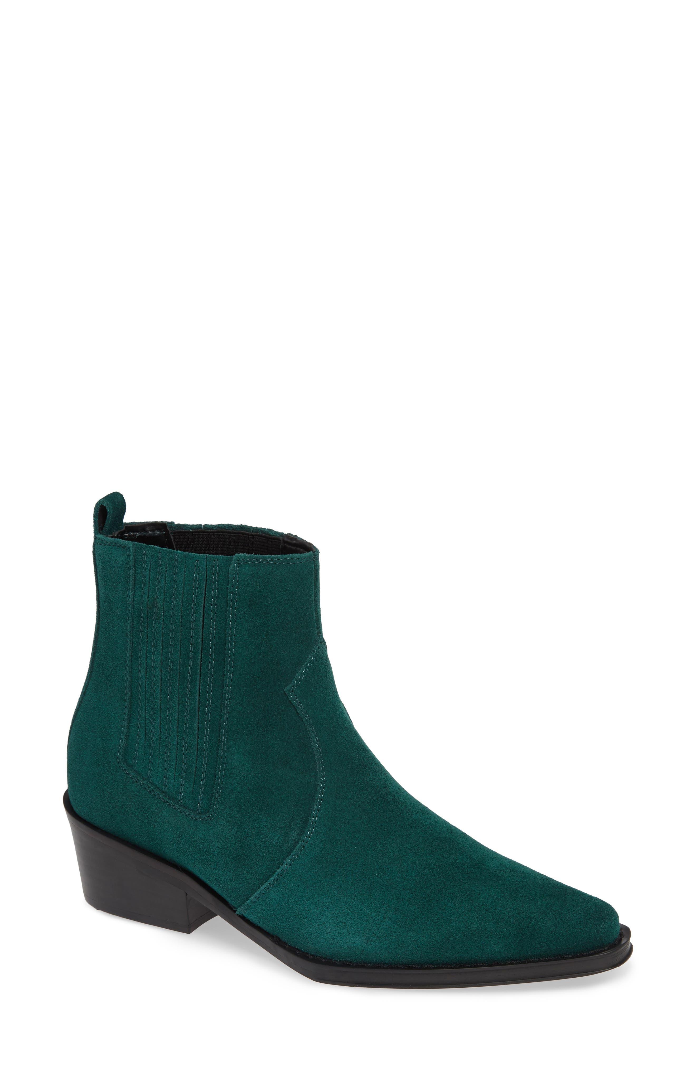 Calvin Klein Jeans Barbara Bootie, Green