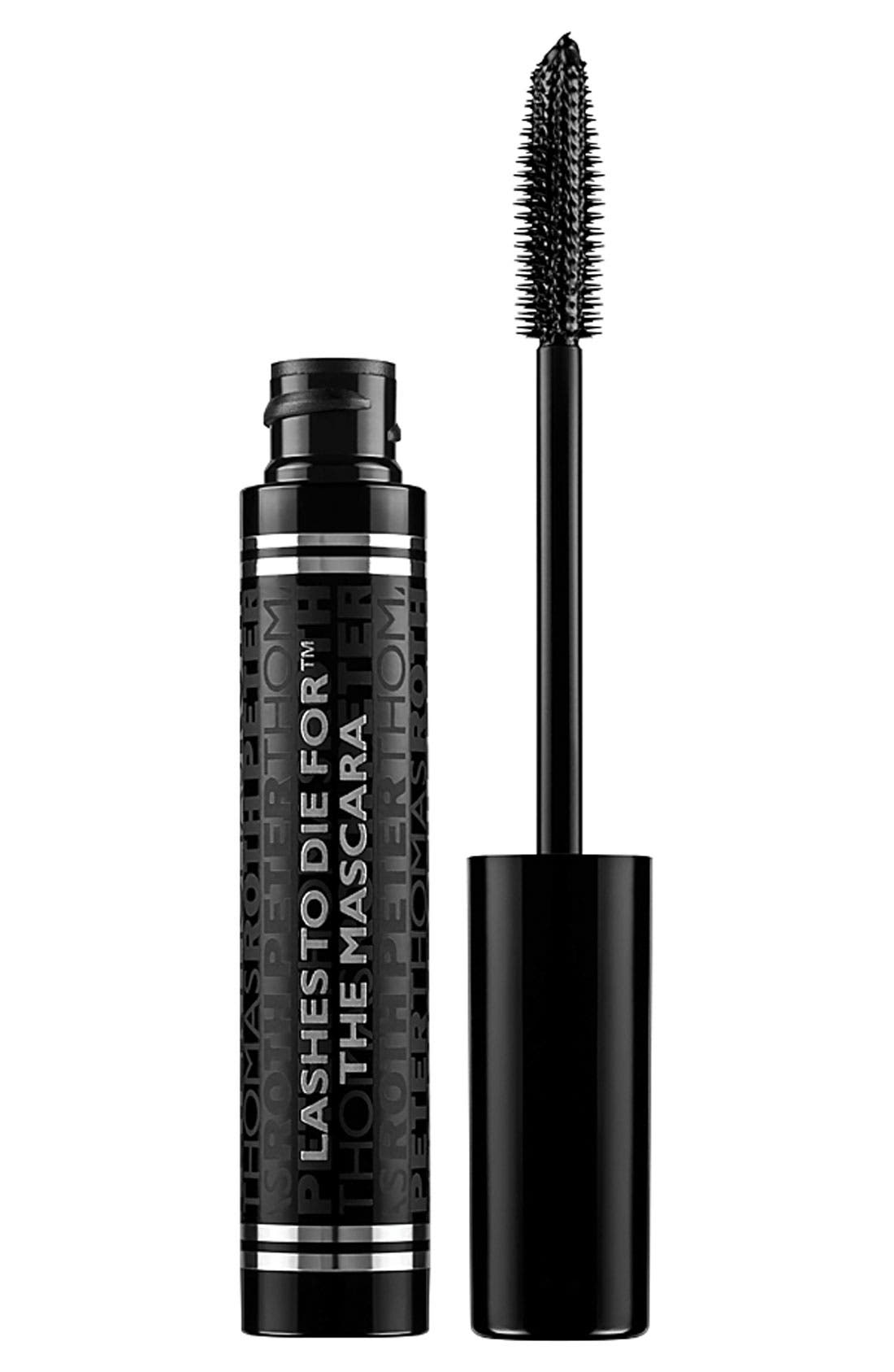 PETER THOMAS ROTH, Lashes to Die For Mascara, Main thumbnail 1, color, NO COLOR