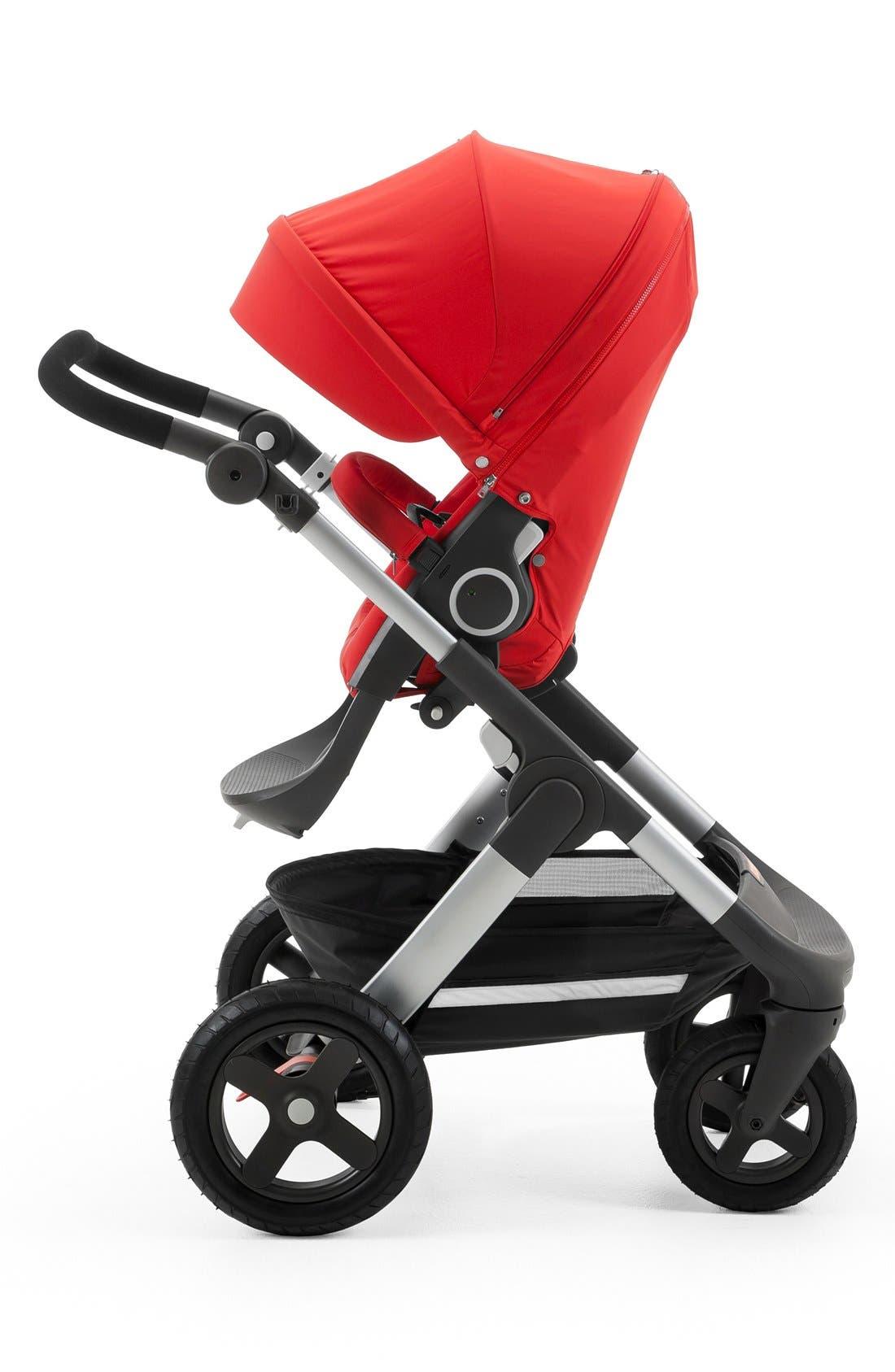 STOKKE, Trailz<sup>™</sup> All Terrain Stroller, Main thumbnail 1, color, RED