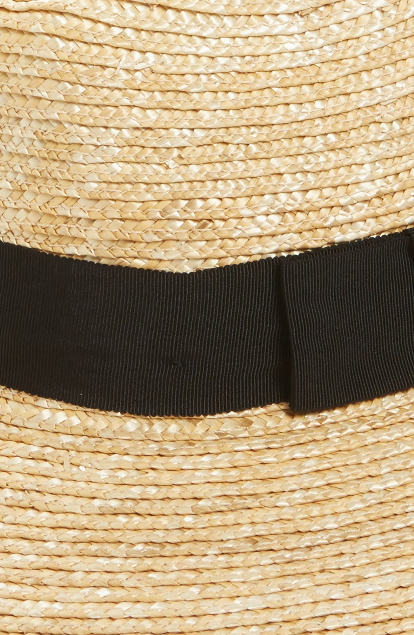 BRIXTON, 'Joanna' Straw Hat, Alternate thumbnail 2, color, HONEY