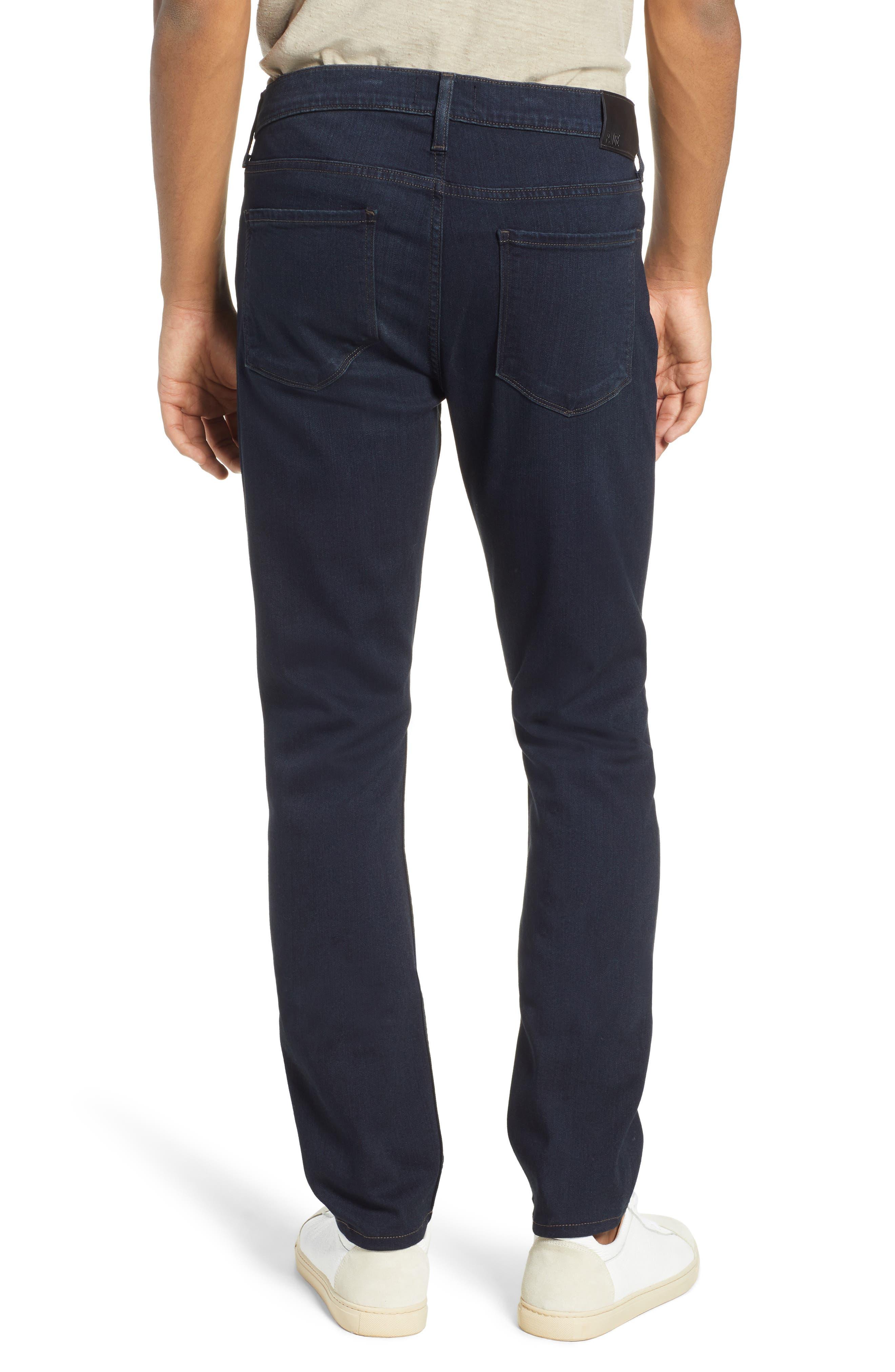 PAIGE, Transcend – Lennox Slim Fit Jeans, Alternate thumbnail 2, color, DOMINIC