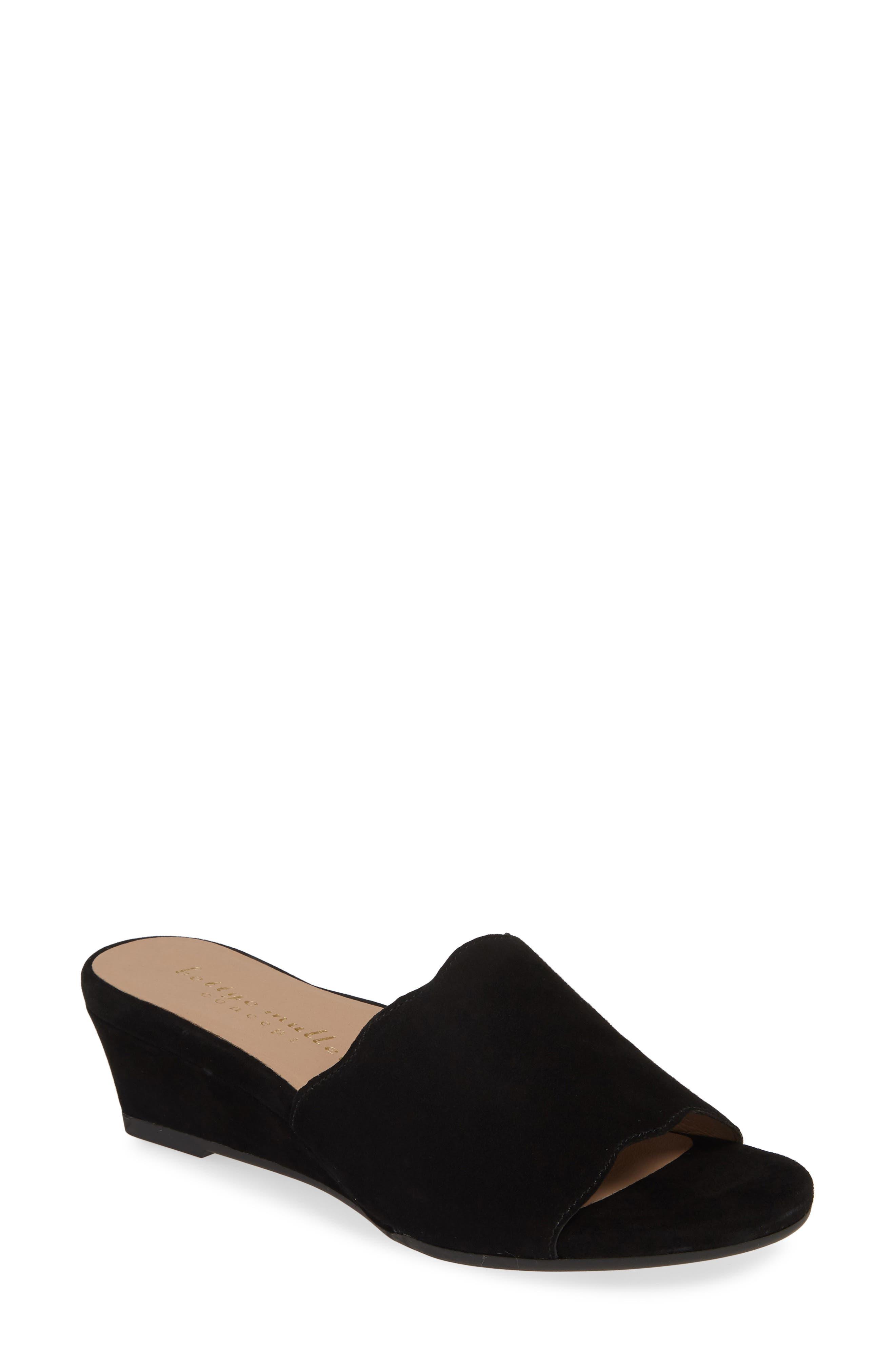 Bettye Muller Concepts Seema Slide Sandal, Black
