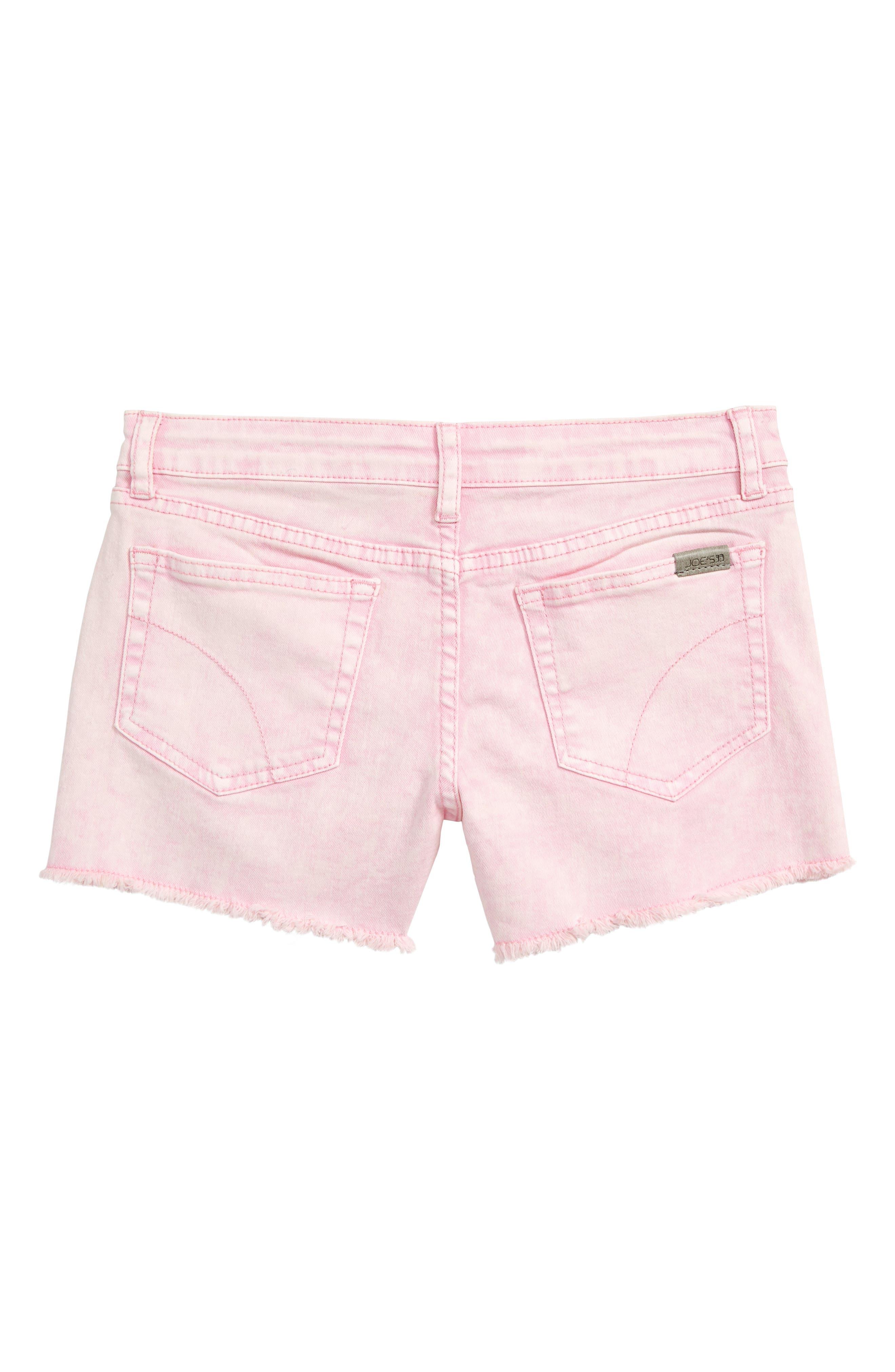 JOE'S, The Markie Cutoff Denim Shorts, Alternate thumbnail 2, color, PRISM PINK