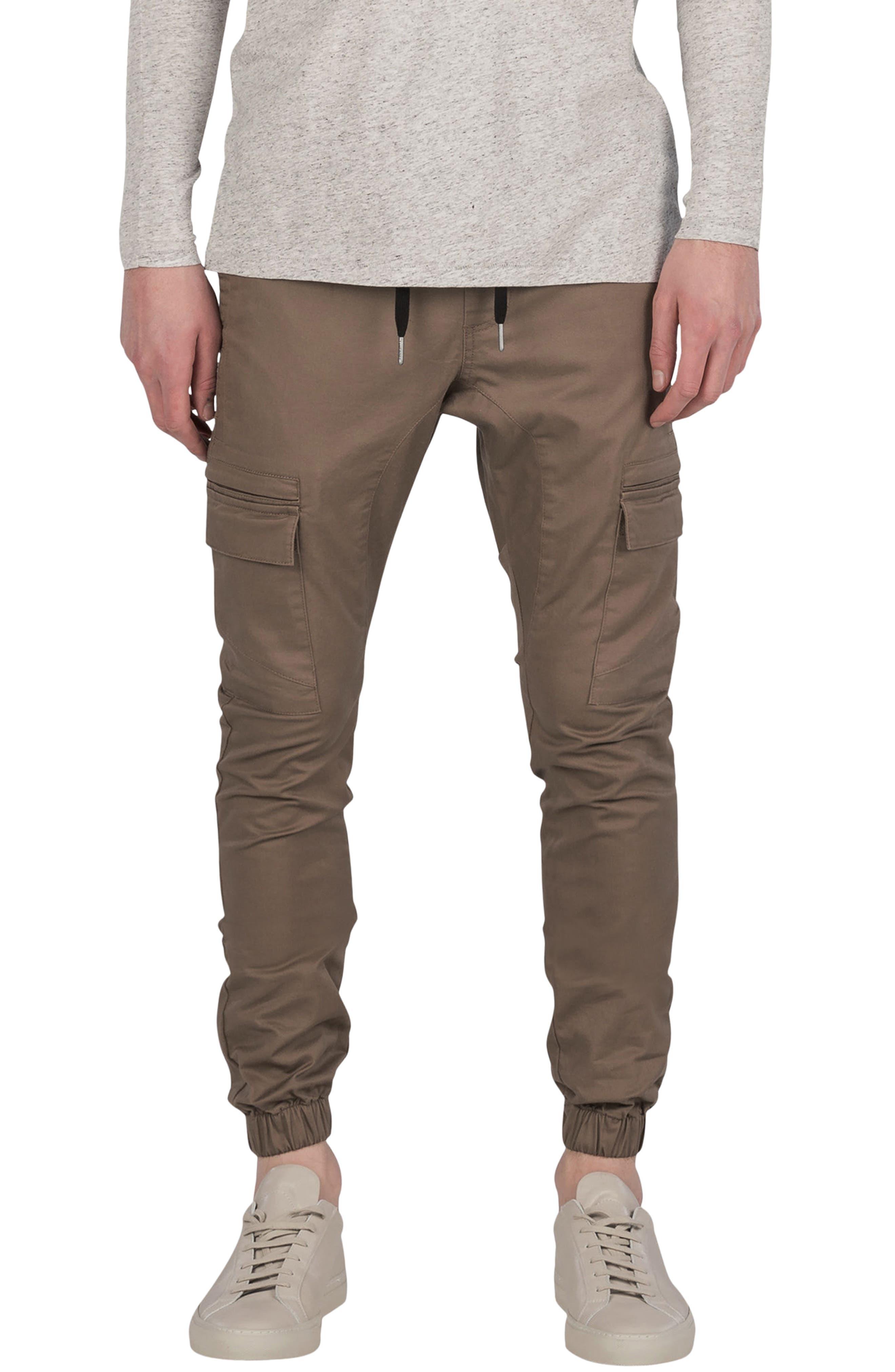 ZANEROBE Sureshot Cargo Jogger Pants, Main, color, TIMBER
