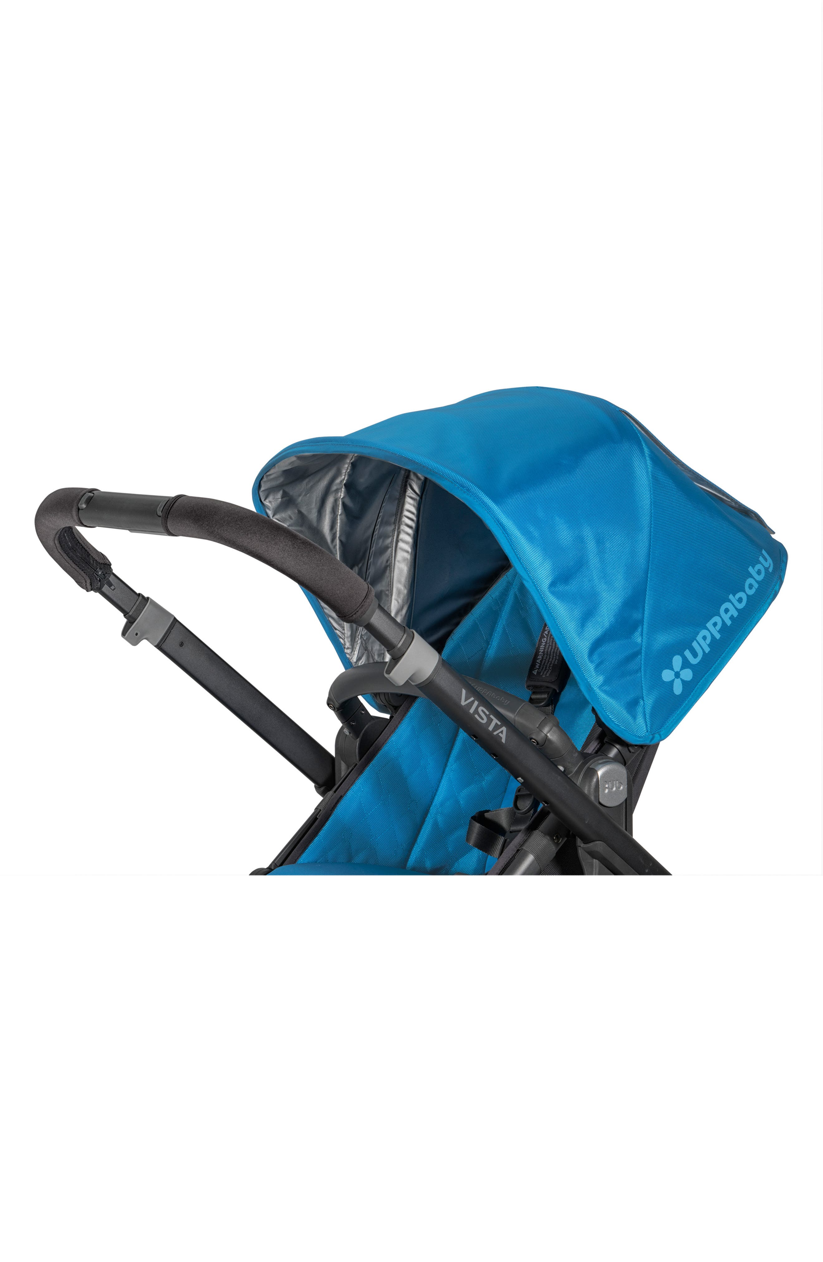 UPPABABY, VISTA<sup>®</sup> Stroller Handlebar Cover, Alternate thumbnail 2, color, BLACK