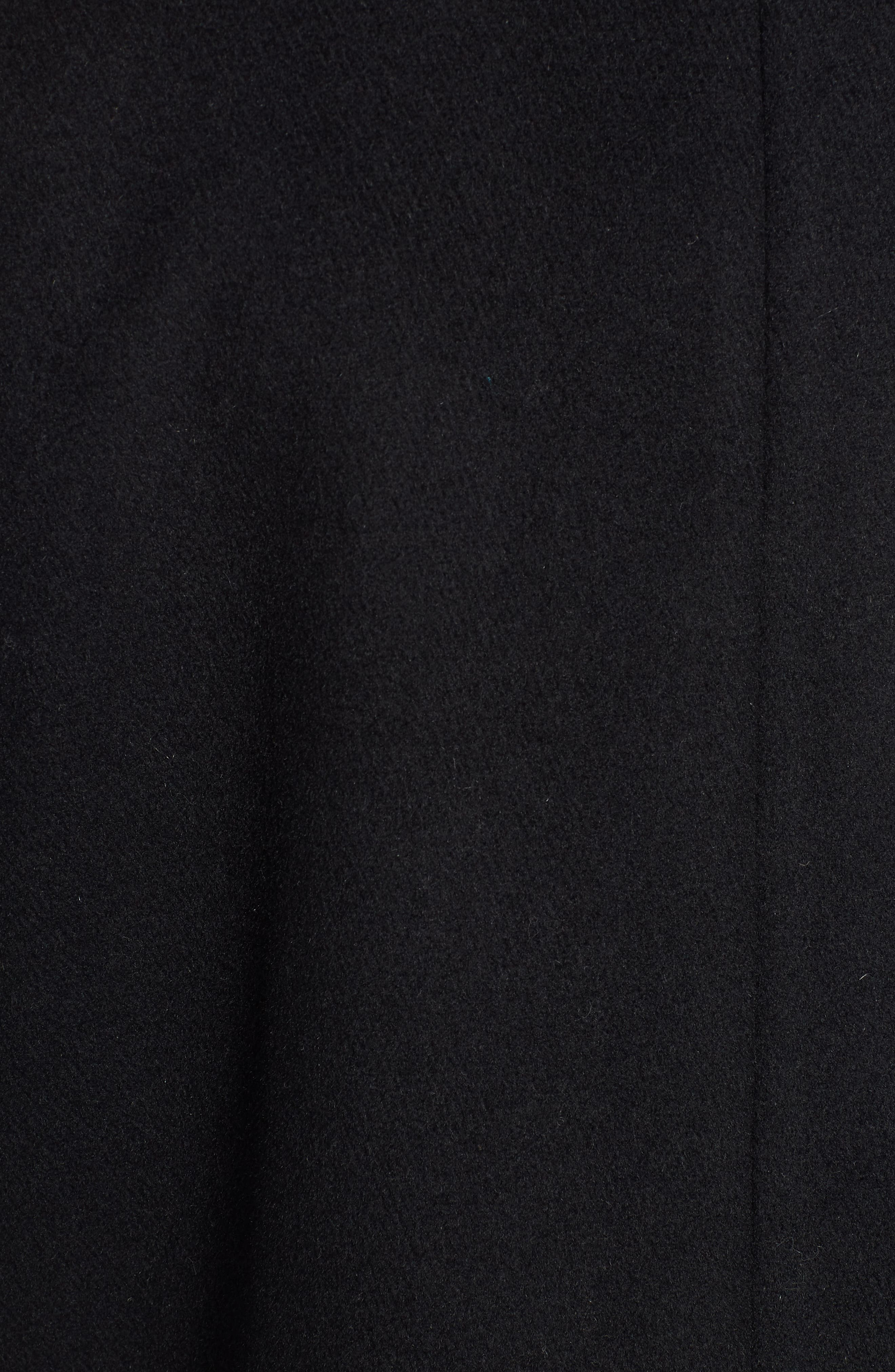 RACHEL RACHEL ROY, Wool Blend Coat, Alternate thumbnail 7, color, BLACK