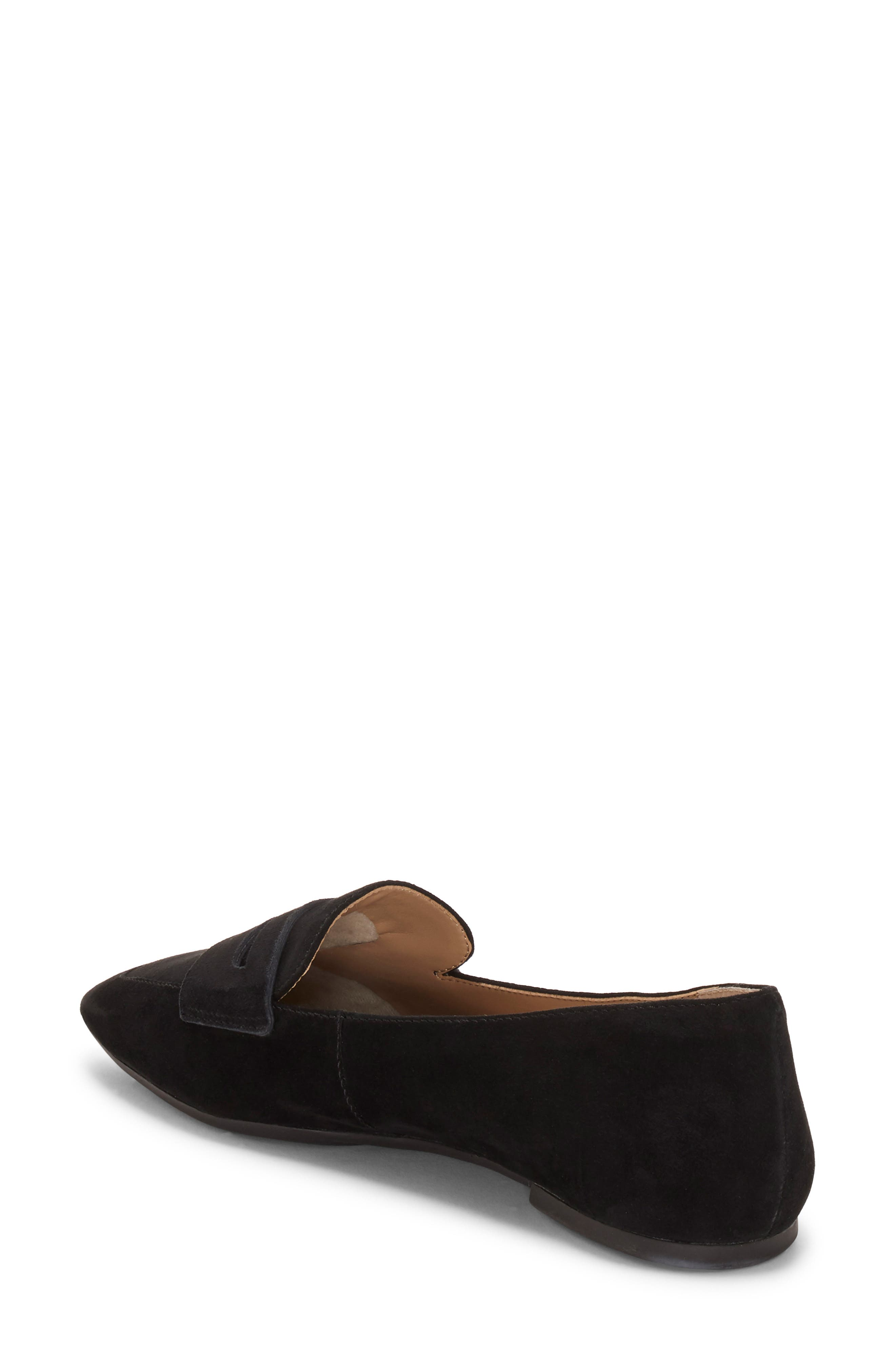 ENZO ANGIOLINI, Leeba Loafer, Alternate thumbnail 2, color, BLACK SUEDE