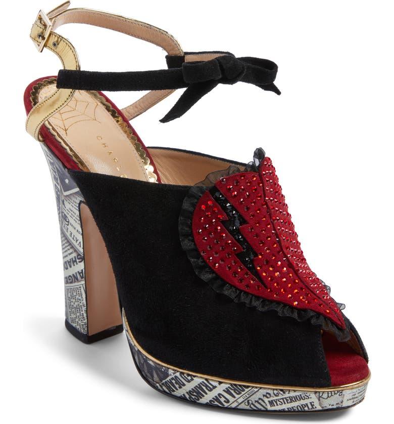 c1d5e28c50 Charlotte Olympia Killer Heels Sandal (Women)   Nordstrom