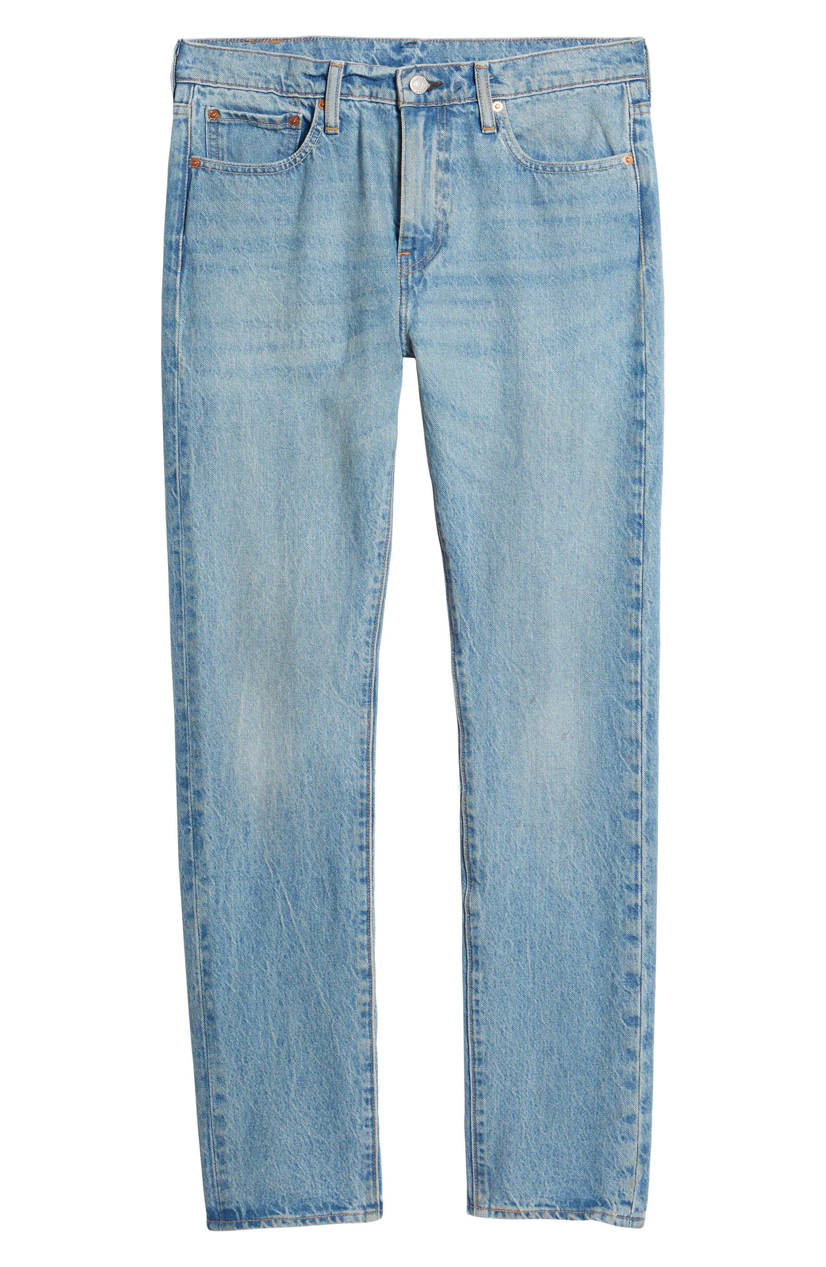 LEVI'S<SUP>®</SUP>, 510<sup>™</sup> Skinny Fit Jeans, Alternate thumbnail 7, color, MONKEY