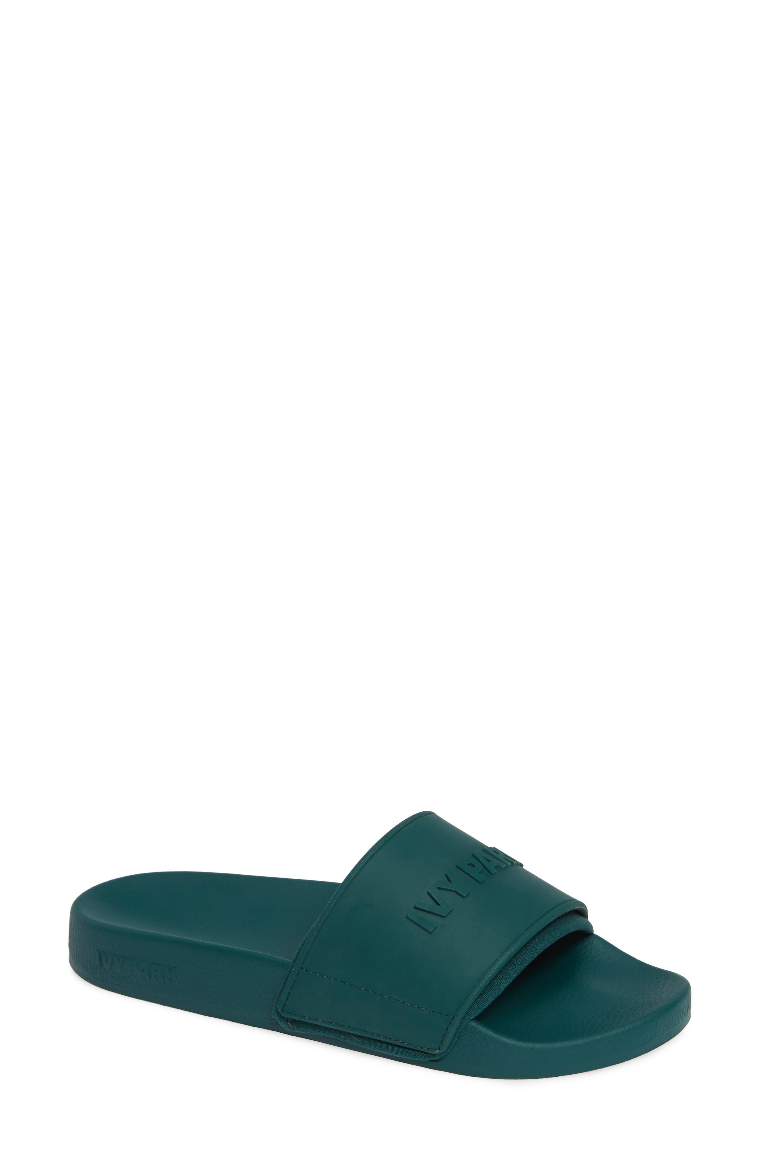 IVY PARK<SUP>®</SUP>, Embossed Logo Slide Sandal, Main thumbnail 1, color, 300