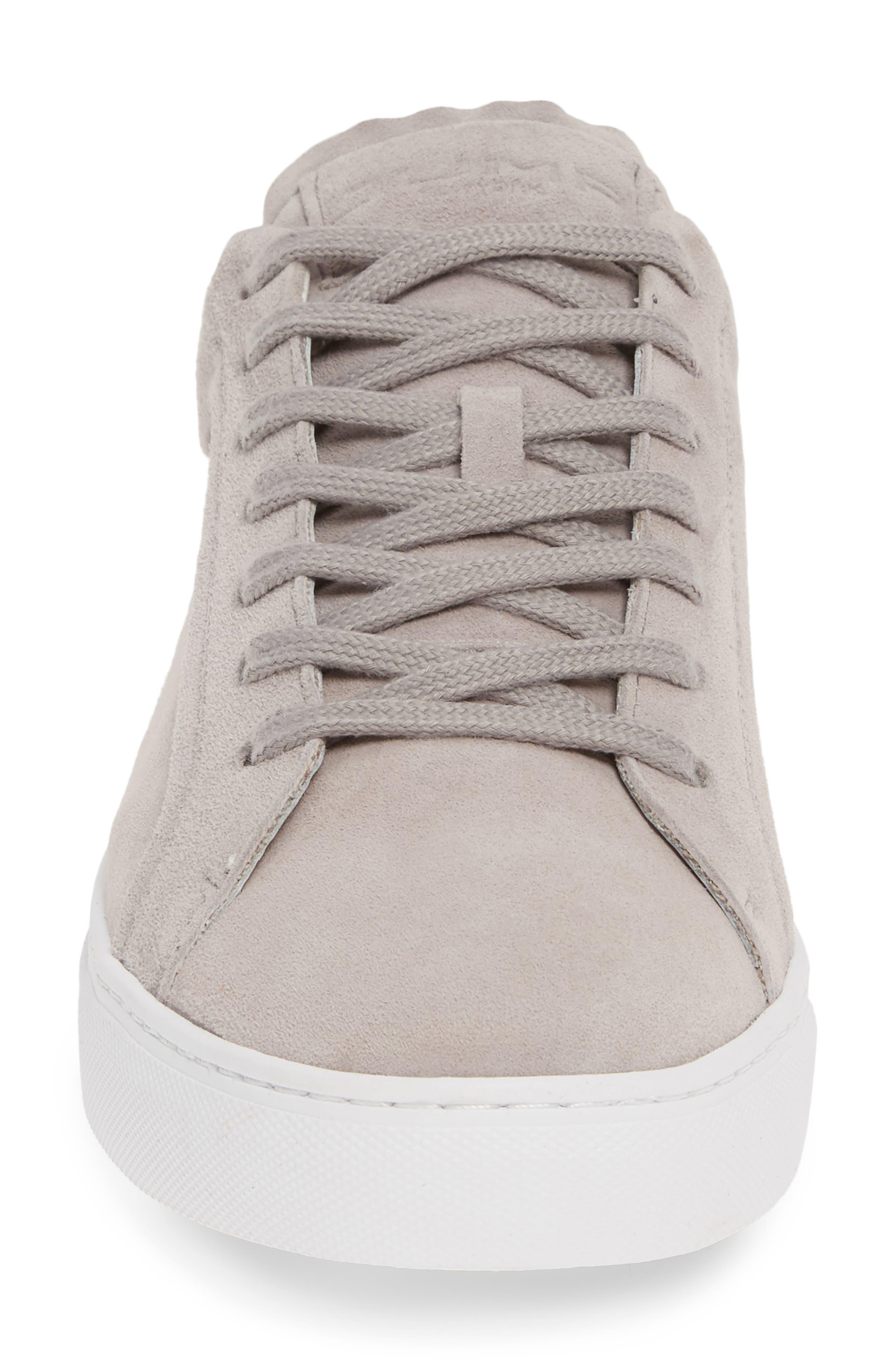 JUMP, Bloke Sneaker, Alternate thumbnail 4, color, GREY SUEDE