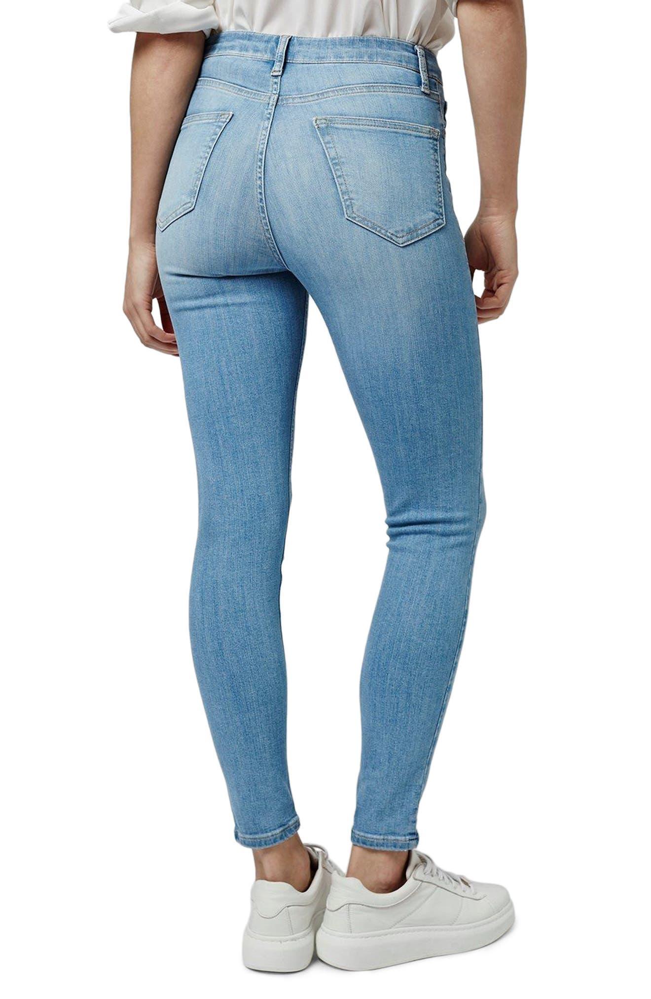 TOPSHOP, Moto Jamie Jeans, Alternate thumbnail 2, color, 450