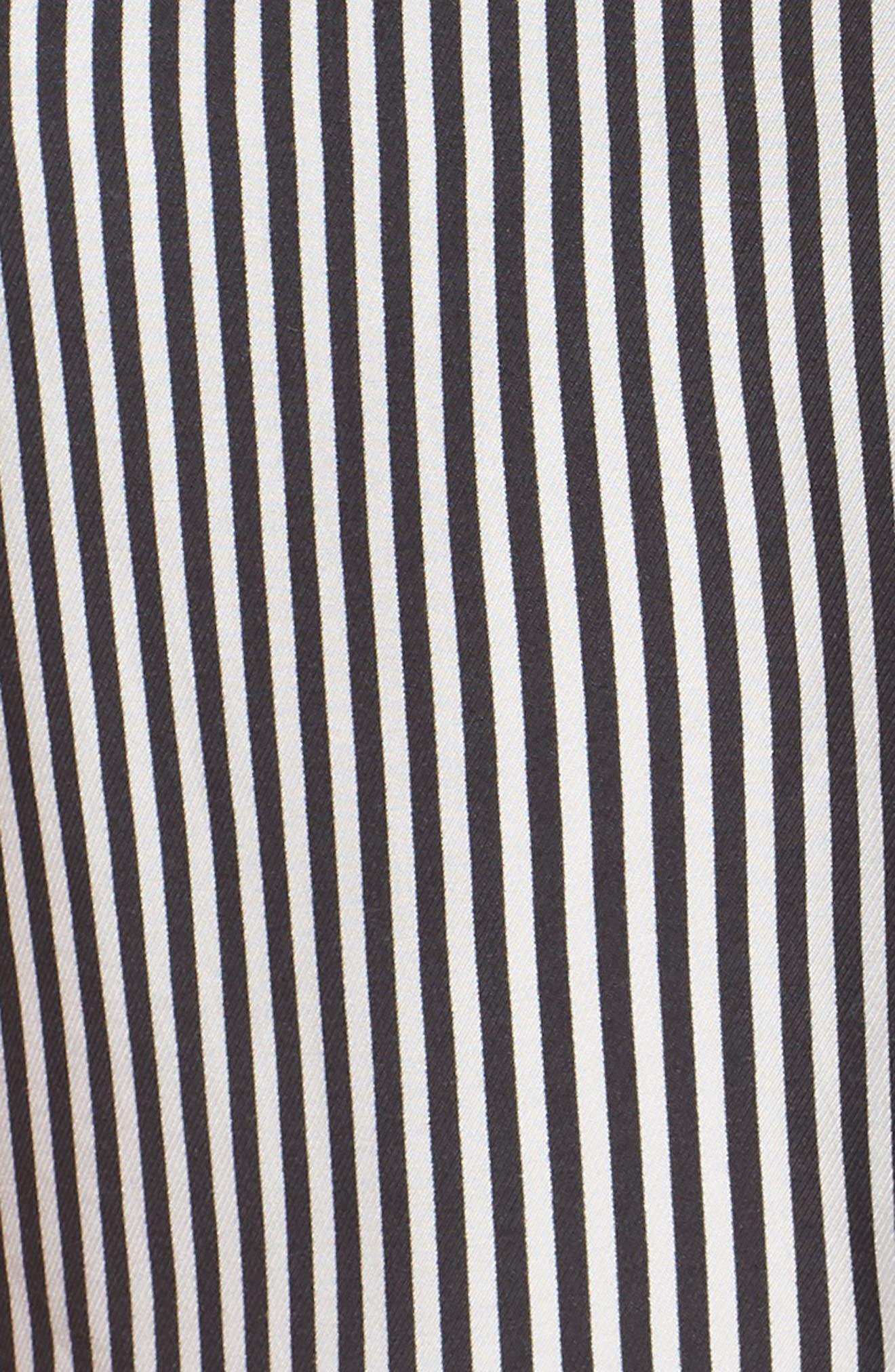 ALI & JAY, All Aboard Minidress, Alternate thumbnail 6, color, BLACK/ WHITE