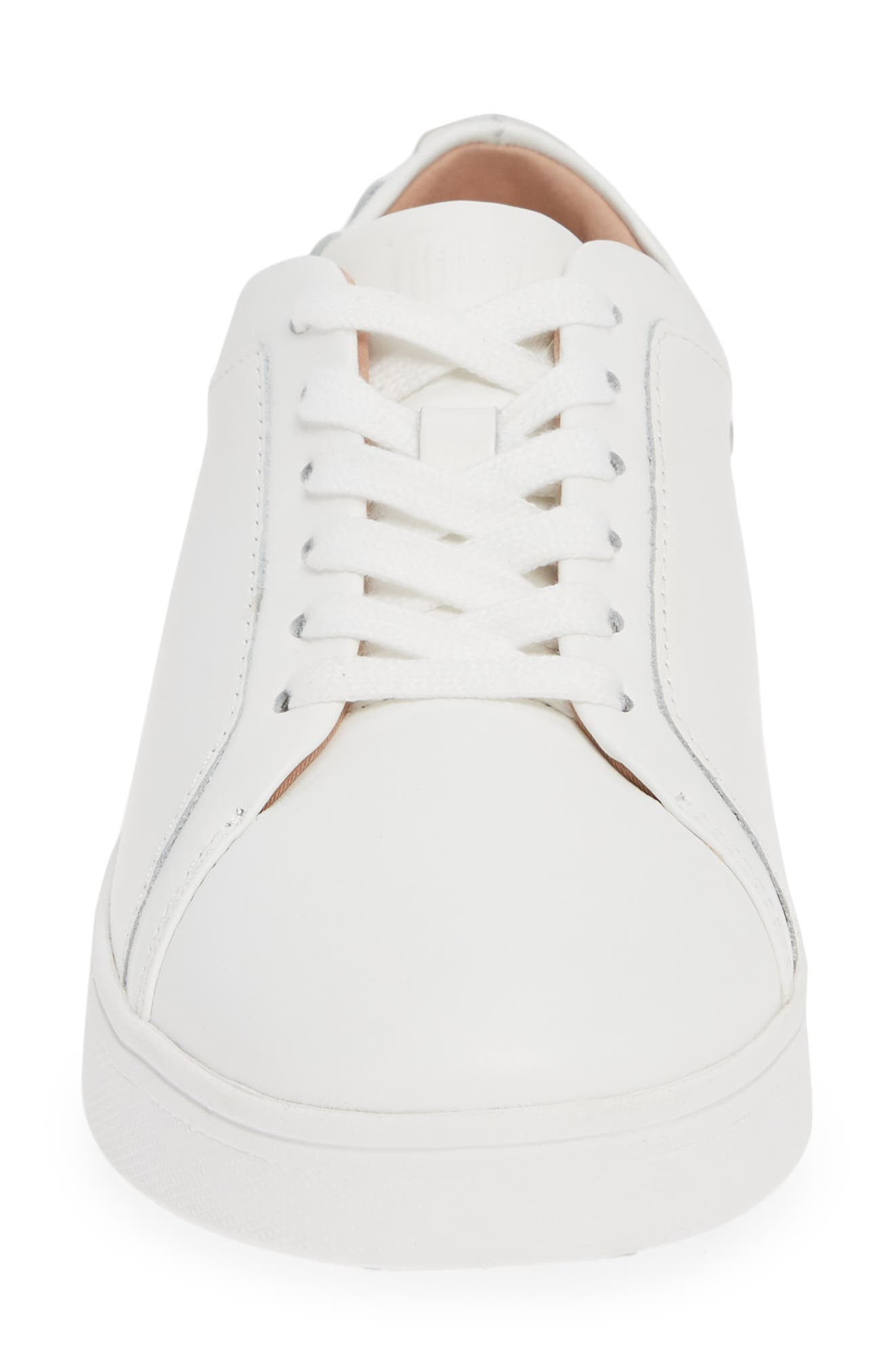 FITFLOP, Rally Studded Sneaker, Alternate thumbnail 4, color, URBAN WHITE LEATHER