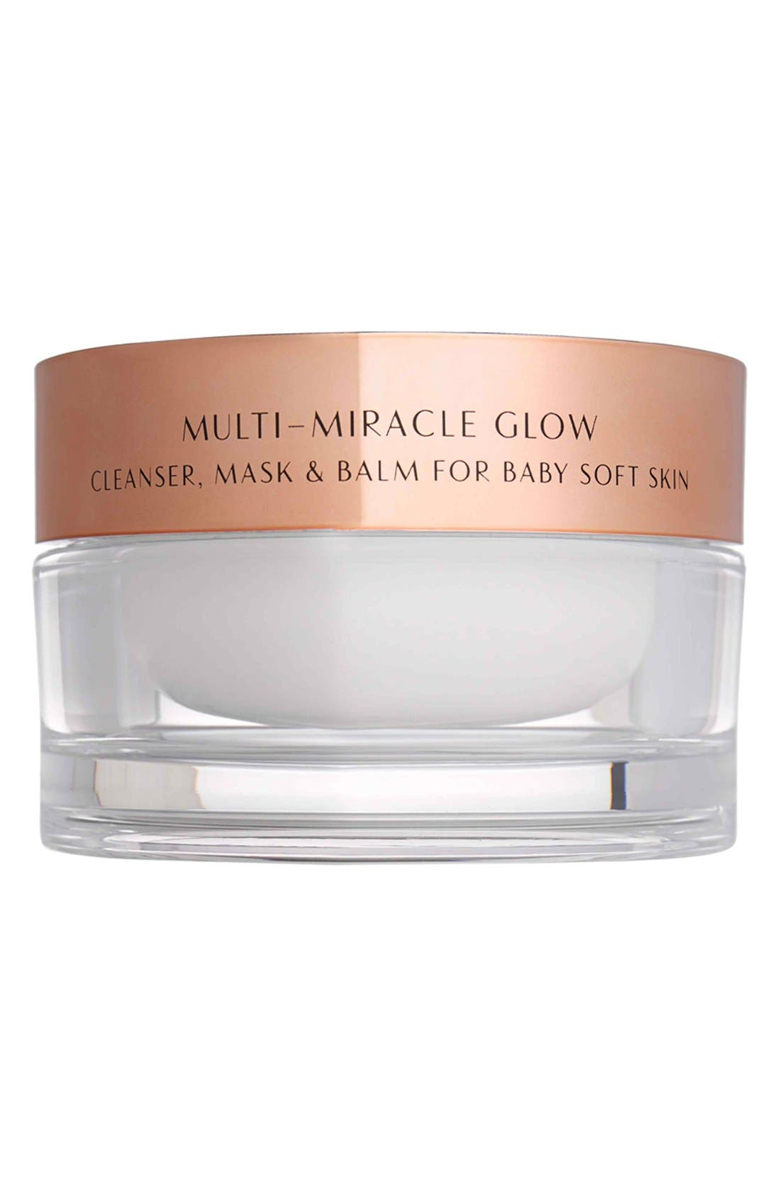CHARLOTTE TILBURY, Multi-Miracle Glow Cleansing Balm, Main thumbnail 1, color, NO COLOR