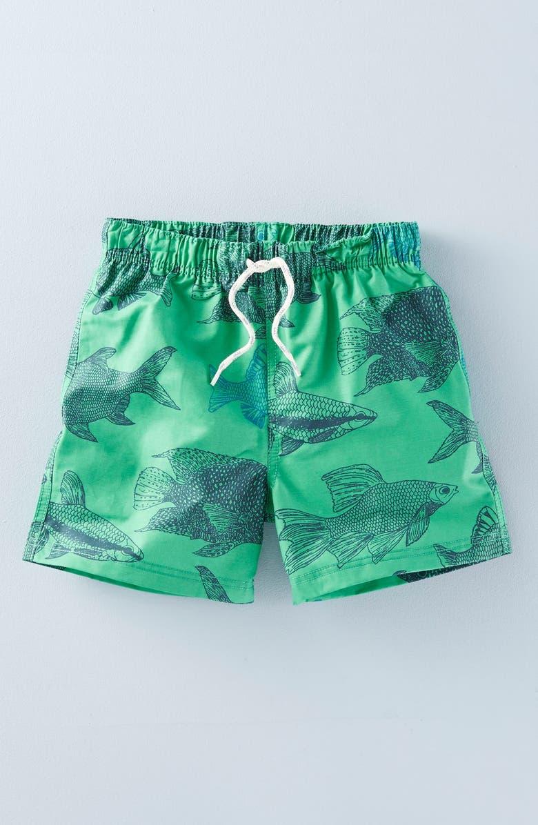 b2d4f1137d Mini Boden 'Bathers' Print Swim Shorts (Toddler Boys, Little Boys ...
