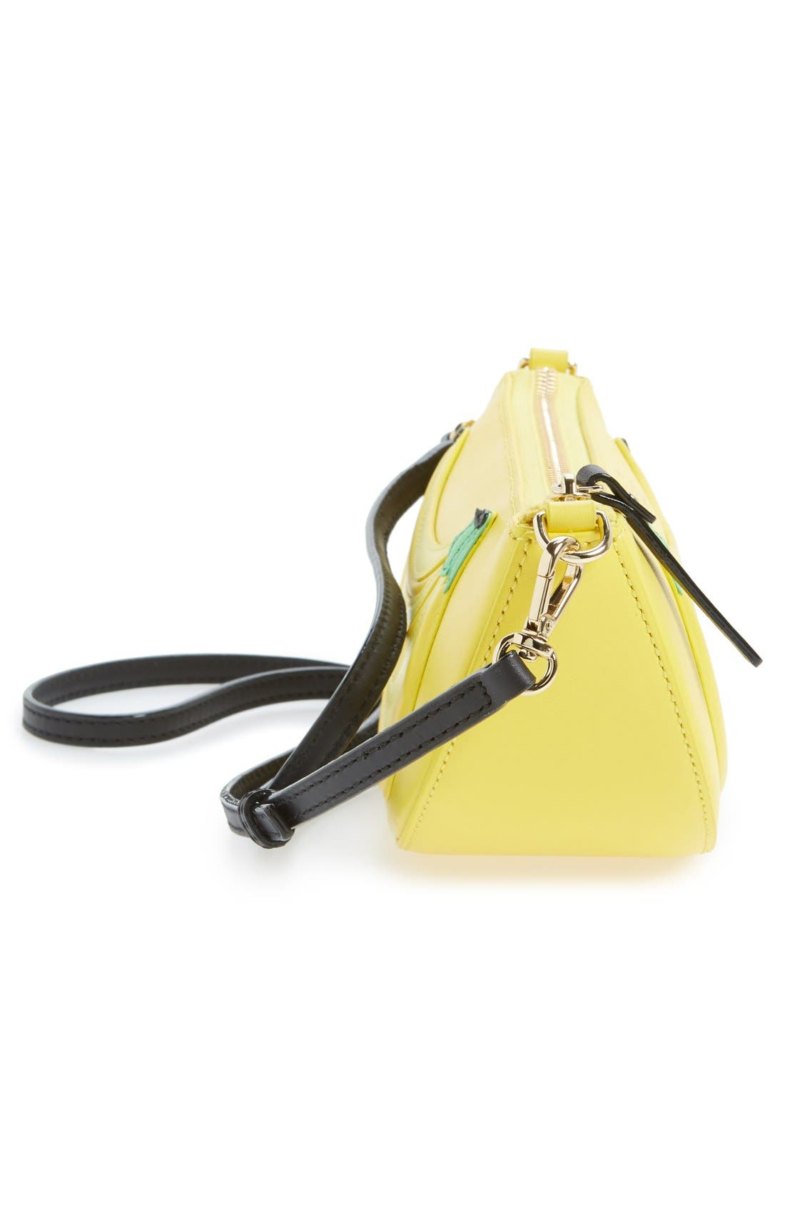KATE SPADE NEW YORK, 'flights of fancy - bananas' crossbody bag, Alternate thumbnail 6, color, 700